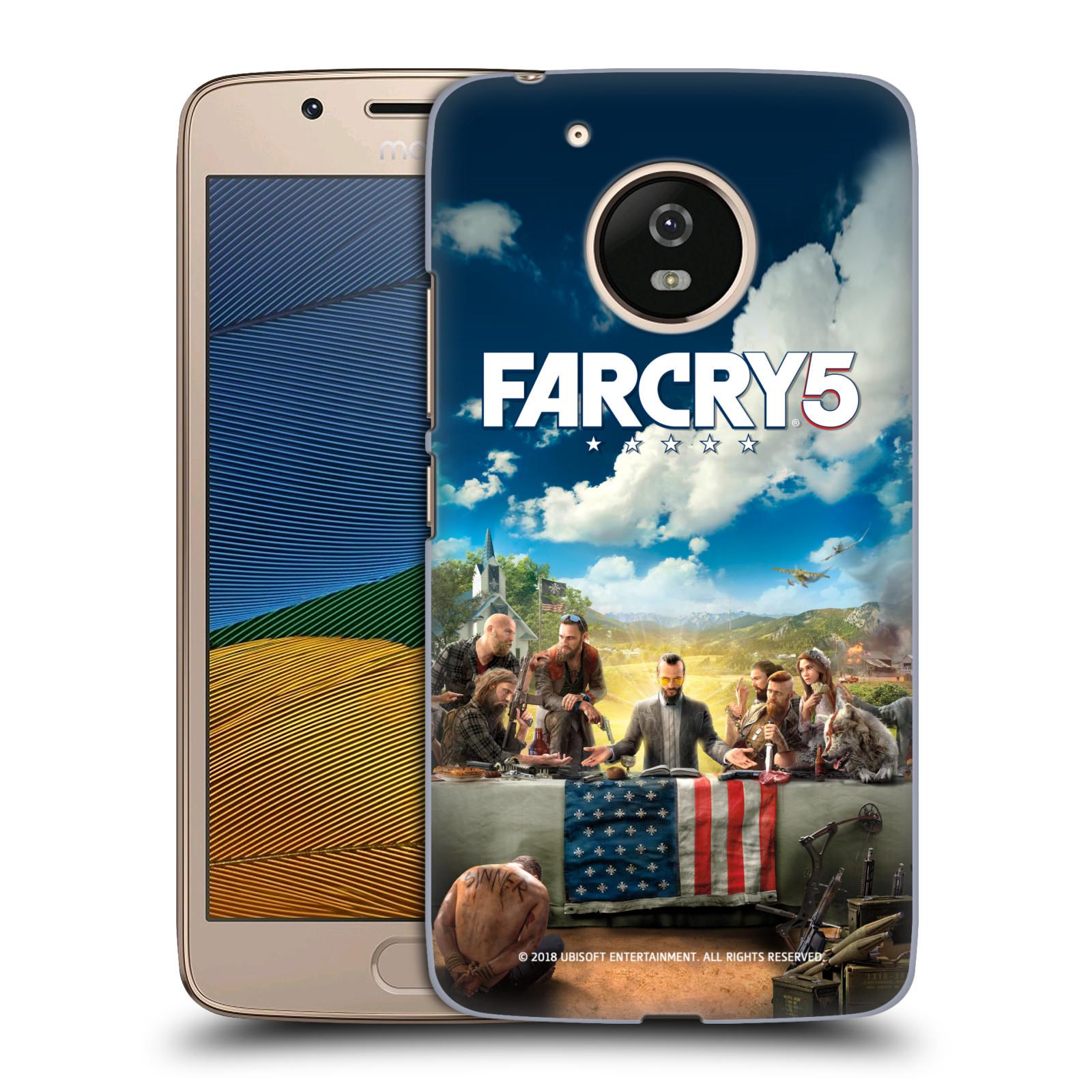 Pouzdro na mobil Lenovo Moto G5 - HEAD CASE - Far Cry 5 poslední večeře
