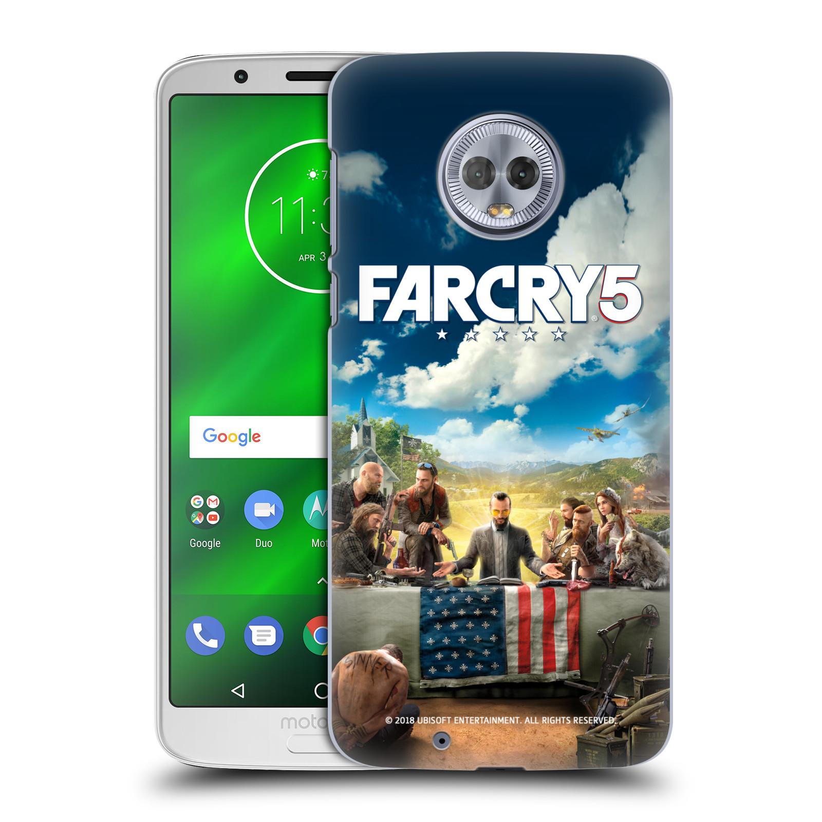 Pouzdro na mobil Motorola Moto G6 - HEAD CASE - Far Cry 5 poslední večeře