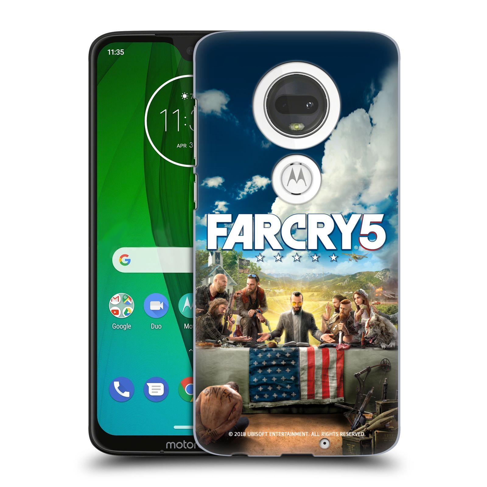 Pouzdro na mobil Motorola Moto G7 - HEAD CASE - Far Cry 5 poslední večeře