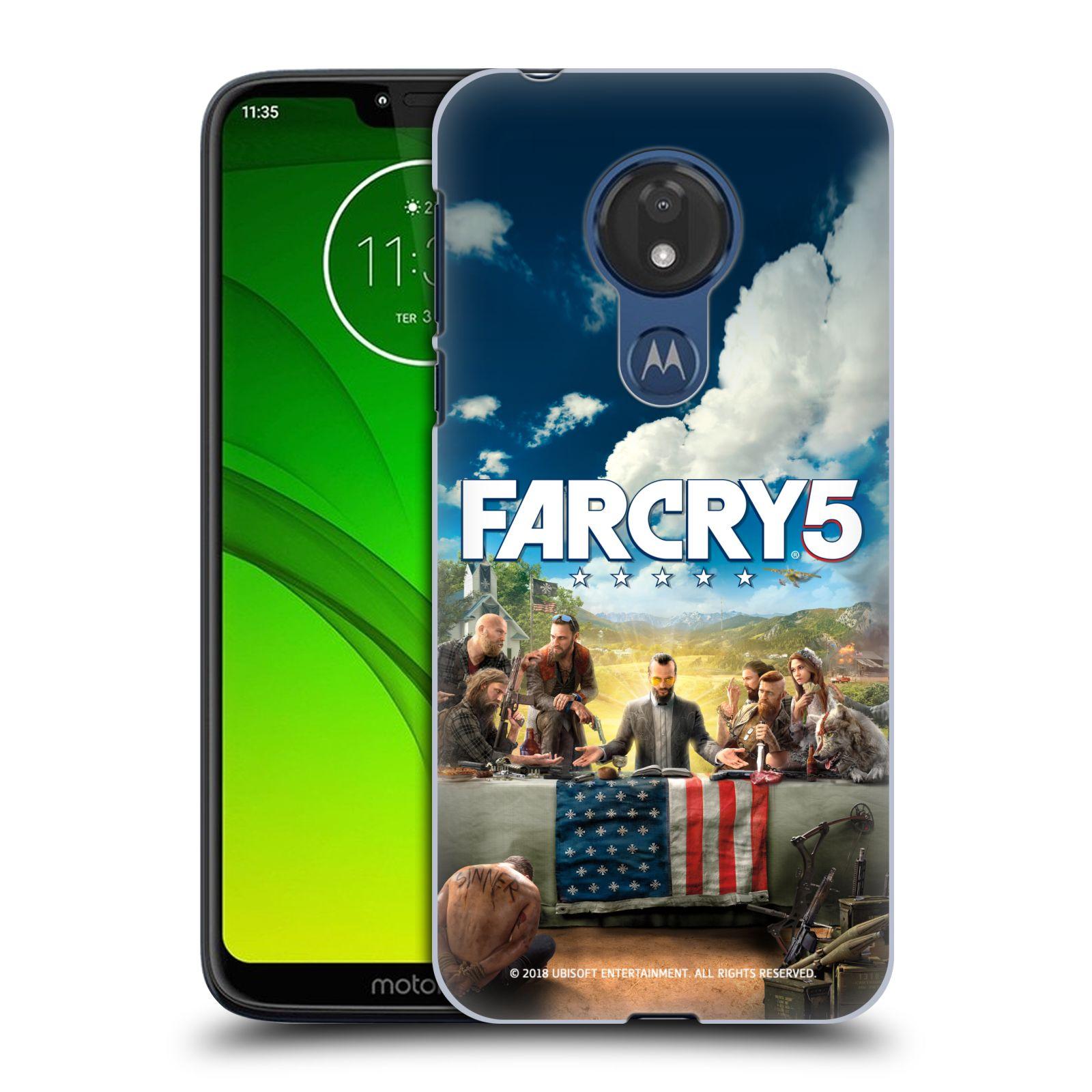 Pouzdro na mobil Motorola Moto G7 POWER - HEAD CASE - Far Cry 5 poslední večeře