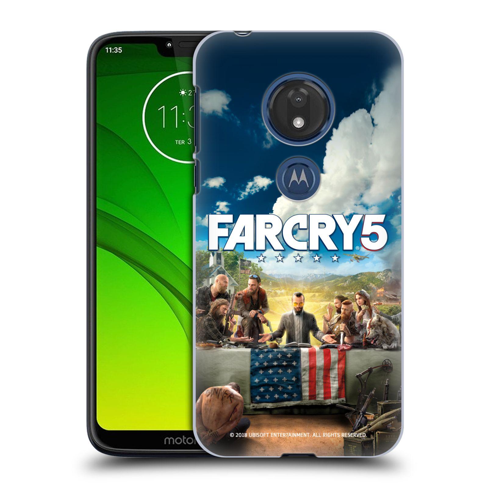 Pouzdro na mobil Motorola Moto G7 Play - HEAD CASE - Far Cry 5 poslední večeře