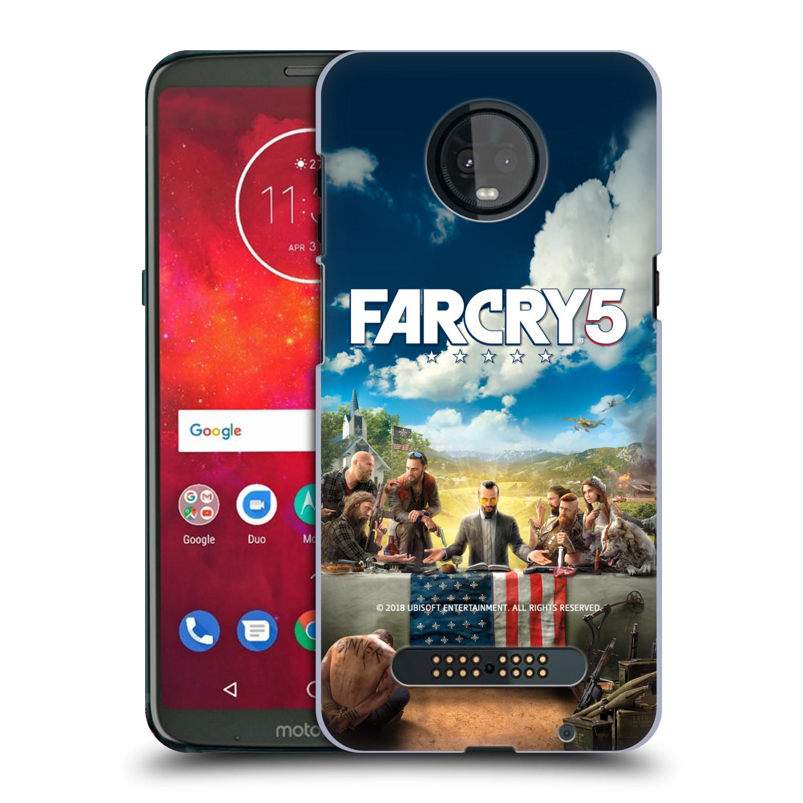 Pouzdro na mobil Motorola Moto Z3 PLAY - HEAD CASE - Far Cry 5 poslední večeře