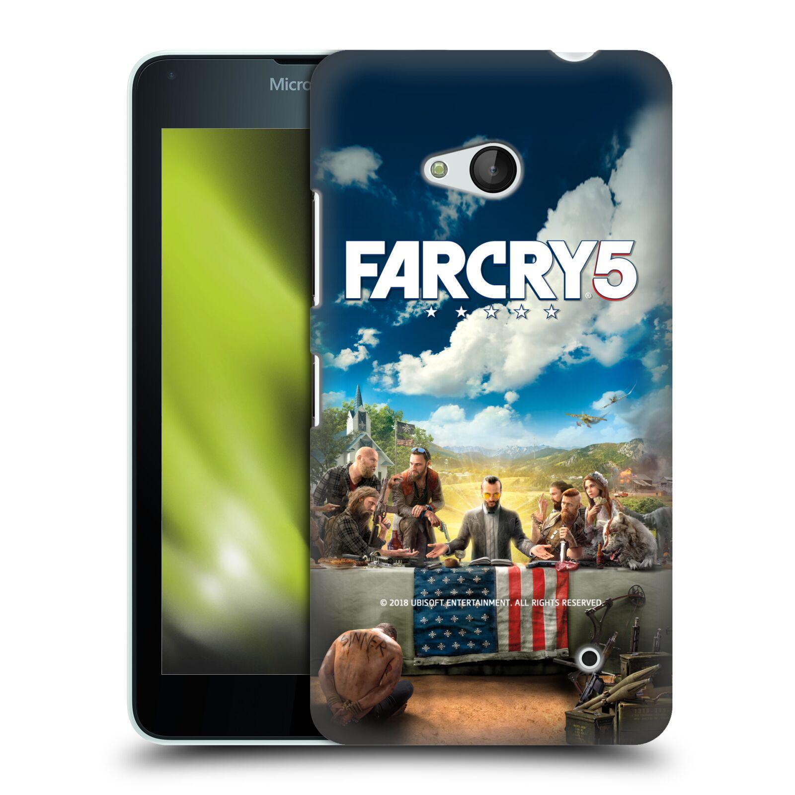 Pouzdro na mobil Microsoft Lumia 640 / 640 DUAL SIM - HEAD CASE - Far Cry 5 poslední večeře