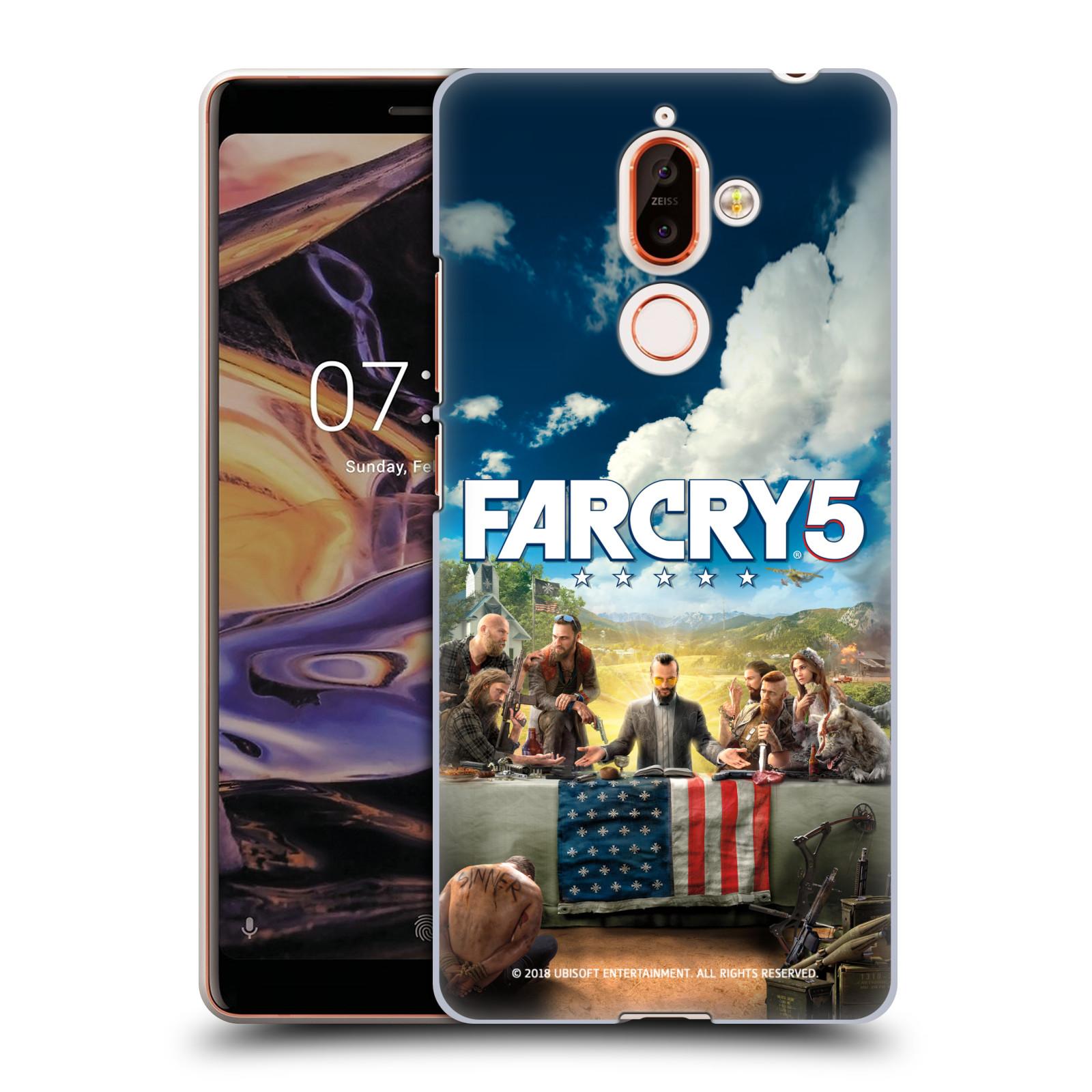 Pouzdro na mobil Nokia 7 PLUS - HEAD CASE - Far Cry 5 poslední večeře