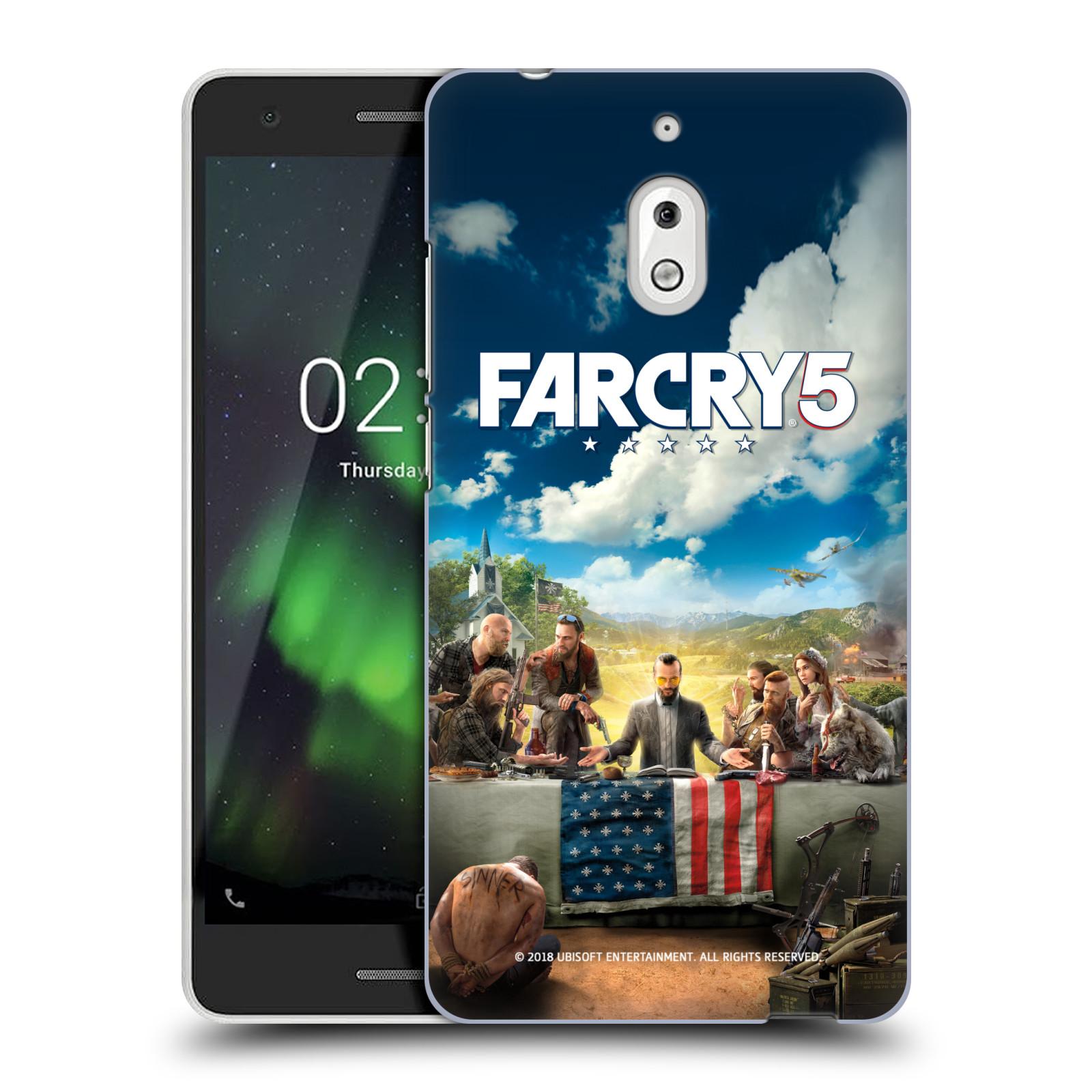 Pouzdro na mobil Nokia 2.1 - HEAD CASE - Far Cry 5 poslední večeře