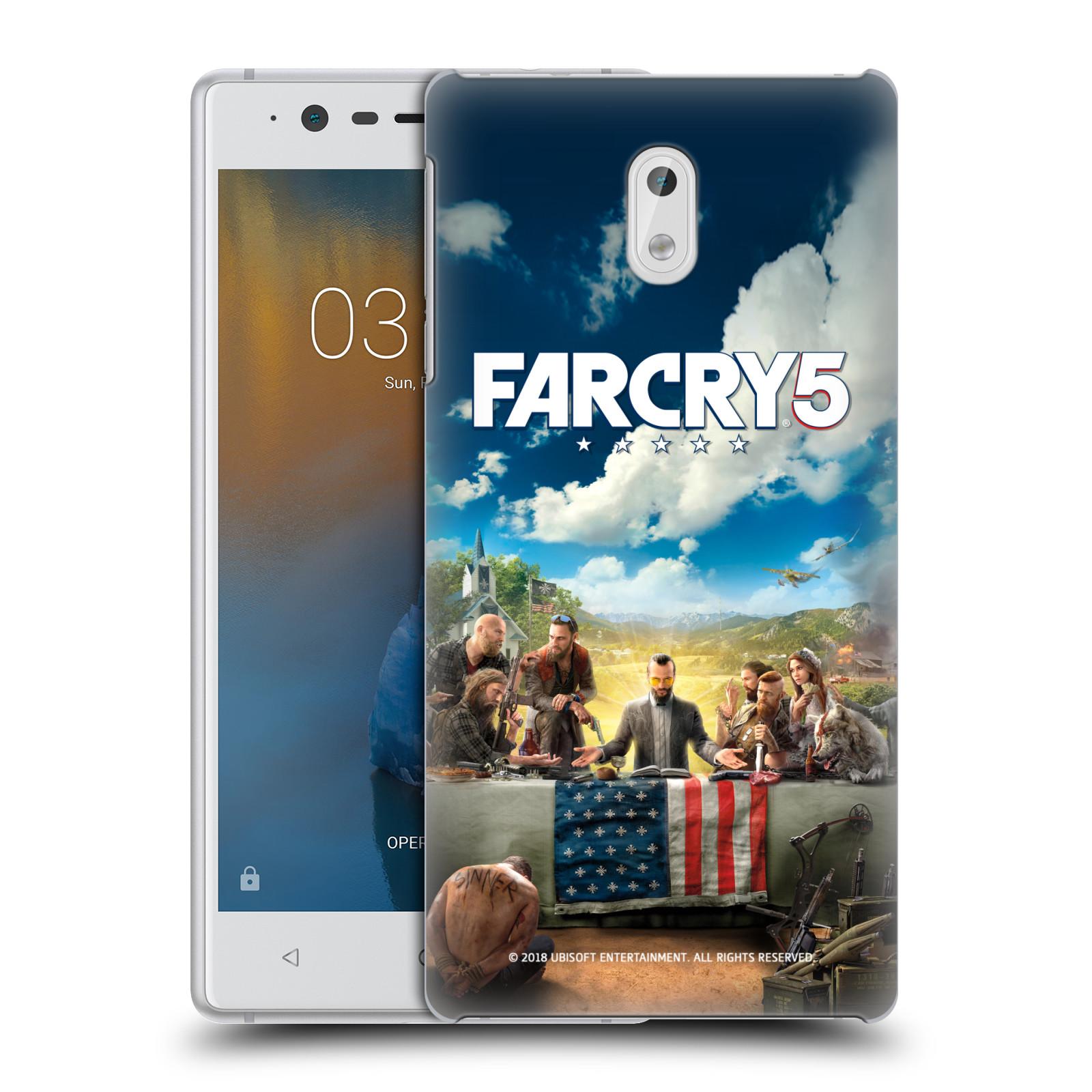 Pouzdro na mobil Nokia 3 - HEAD CASE - Far Cry 5 poslední večeře
