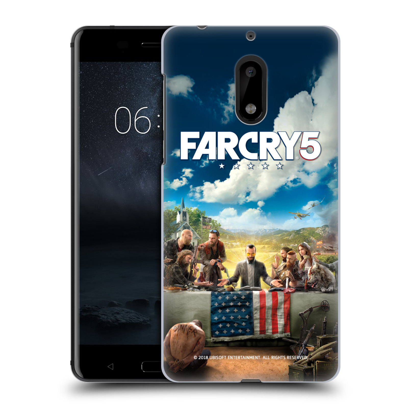 Pouzdro na mobil Nokia 6 - HEAD CASE - Far Cry 5 poslední večeře