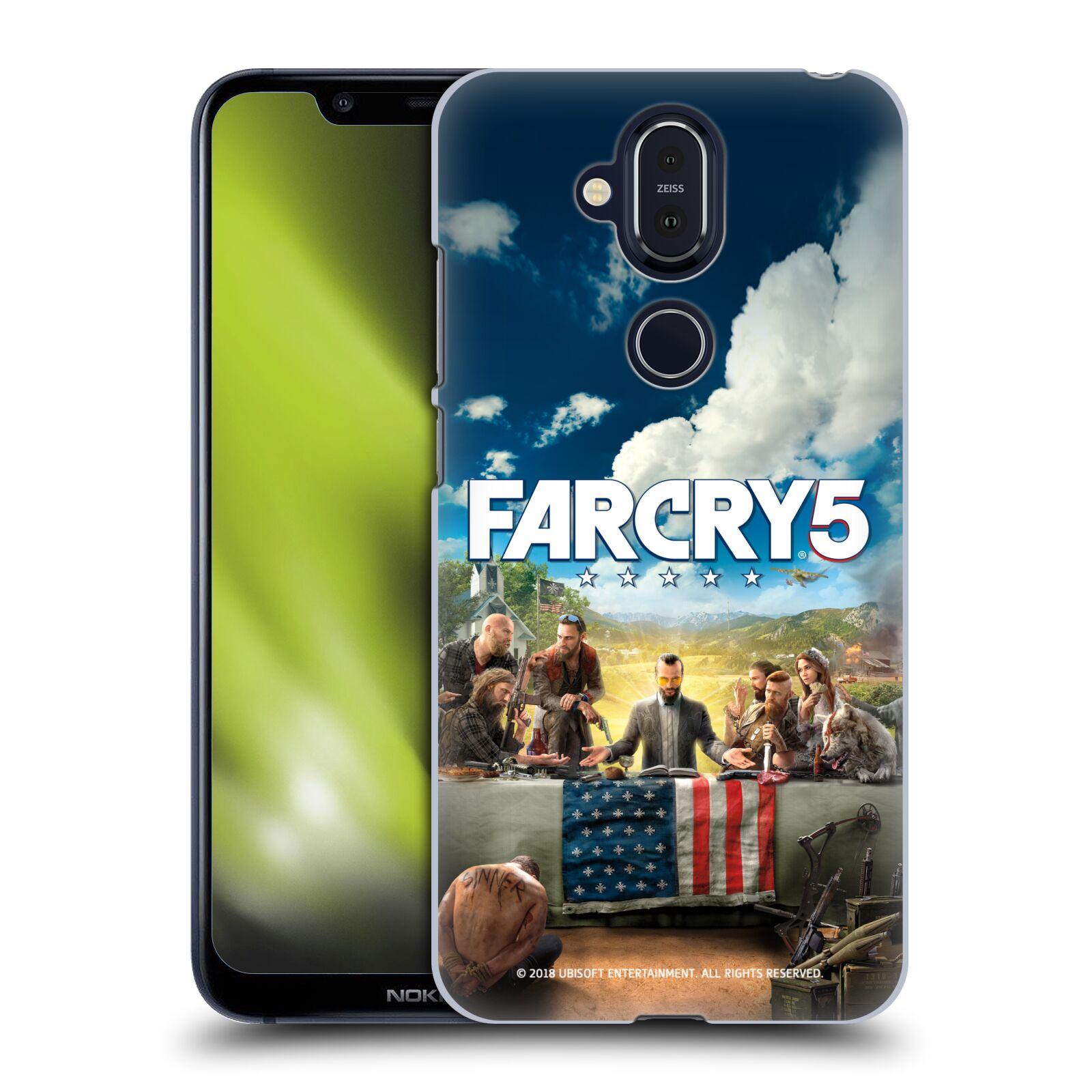 Pouzdro na mobil NOKIA 8.1 - HEAD CASE - Far Cry 5 poslední večeře