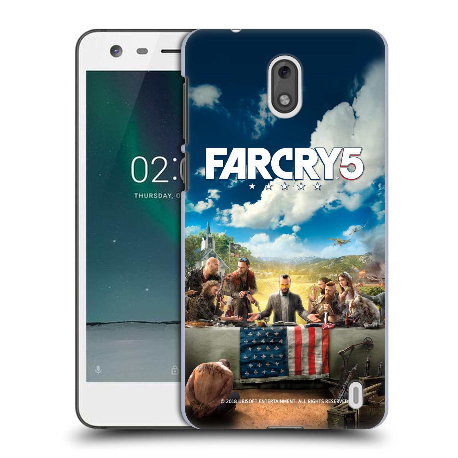 Pouzdro na mobil Nokia 2 - HEAD CASE - Far Cry 5 poslední večeře