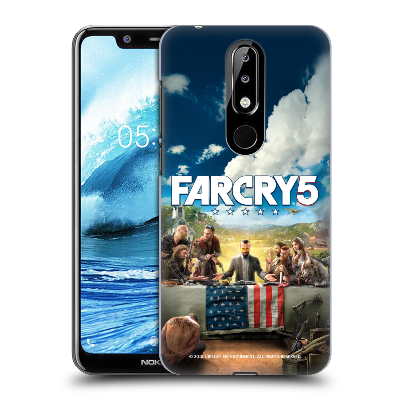 Pouzdro na mobil Nokia 5.1 PLUS - HEAD CASE - Far Cry 5 poslední večeře
