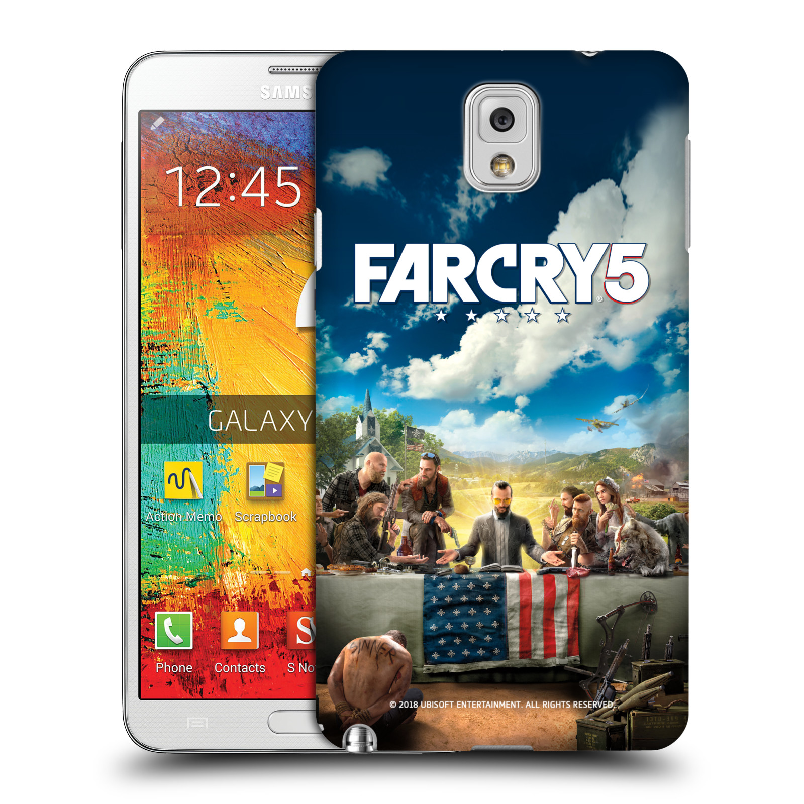 Pouzdro na mobil Samsung Galaxy Note 3 - HEAD CASE - Far Cry 5 poslední večeře