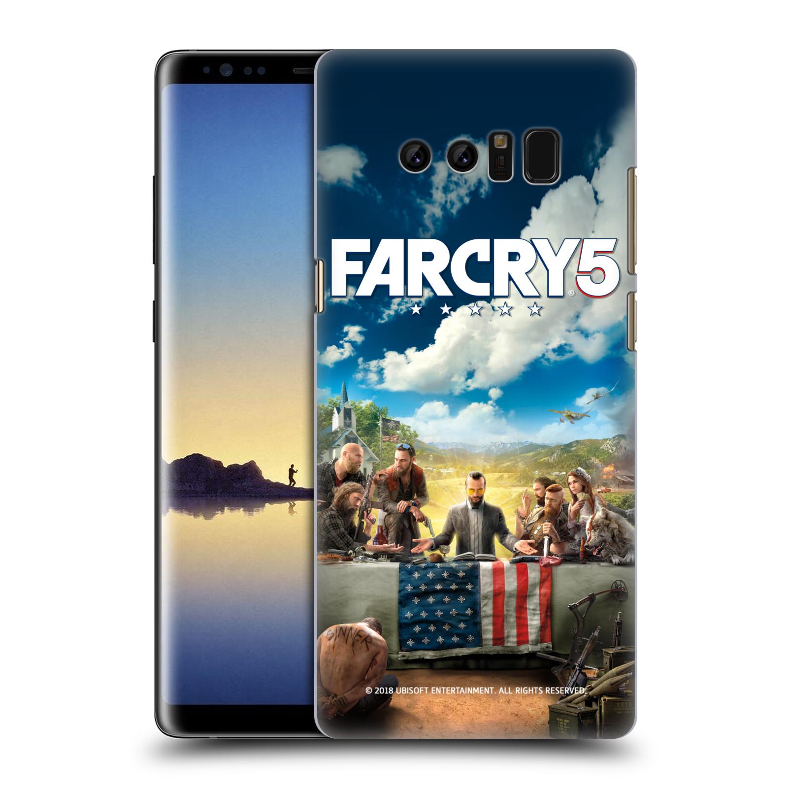 Pouzdro na mobil Samsung Galaxy Note 8 - HEAD CASE - Far Cry 5 poslední večeře