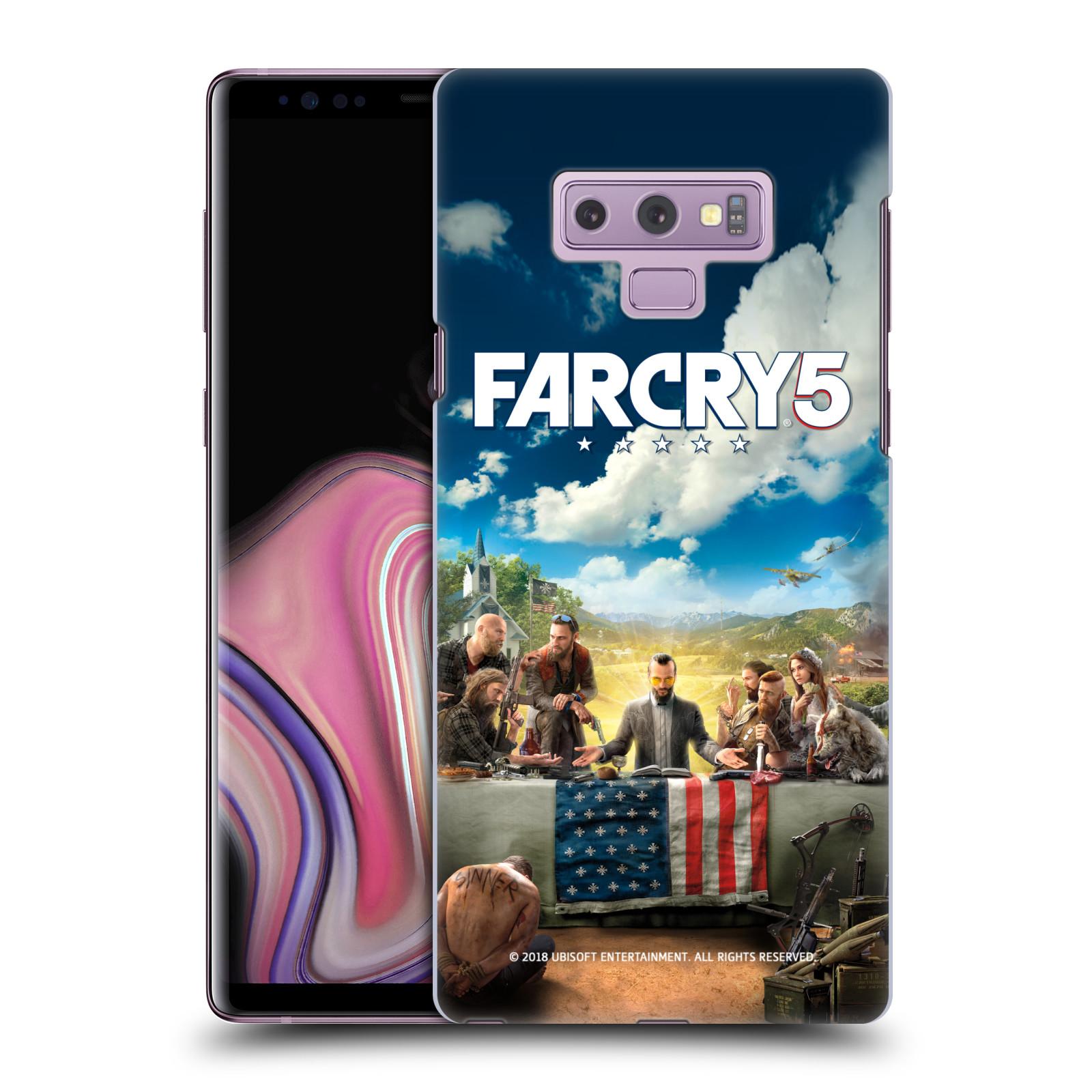 Pouzdro na mobil Samsung Galaxy Note 9 - HEAD CASE - Far Cry 5 poslední večeře