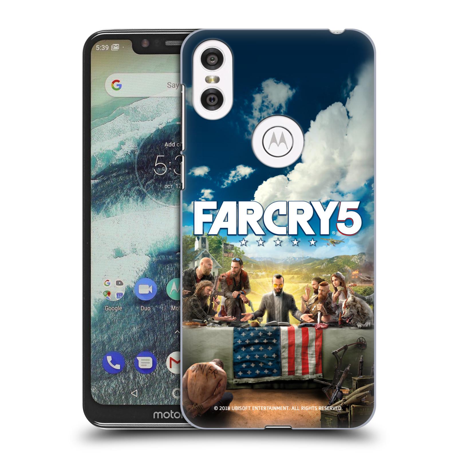 Pouzdro na mobil Motorola Moto ONE - HEAD CASE - Far Cry 5 poslední večeře