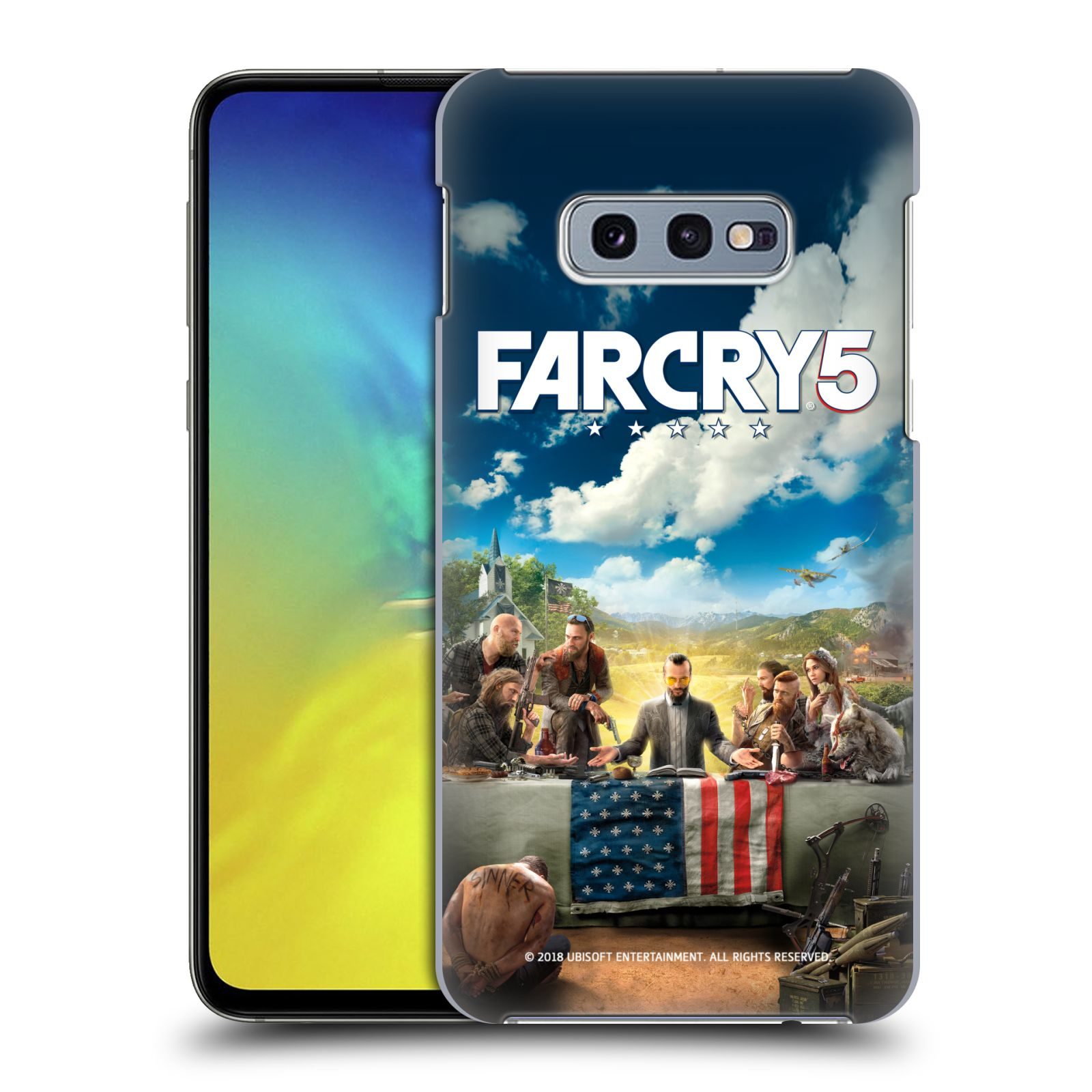 Pouzdro na mobil Samsung Galaxy S10e - HEAD CASE - Far Cry 5 poslední večeře