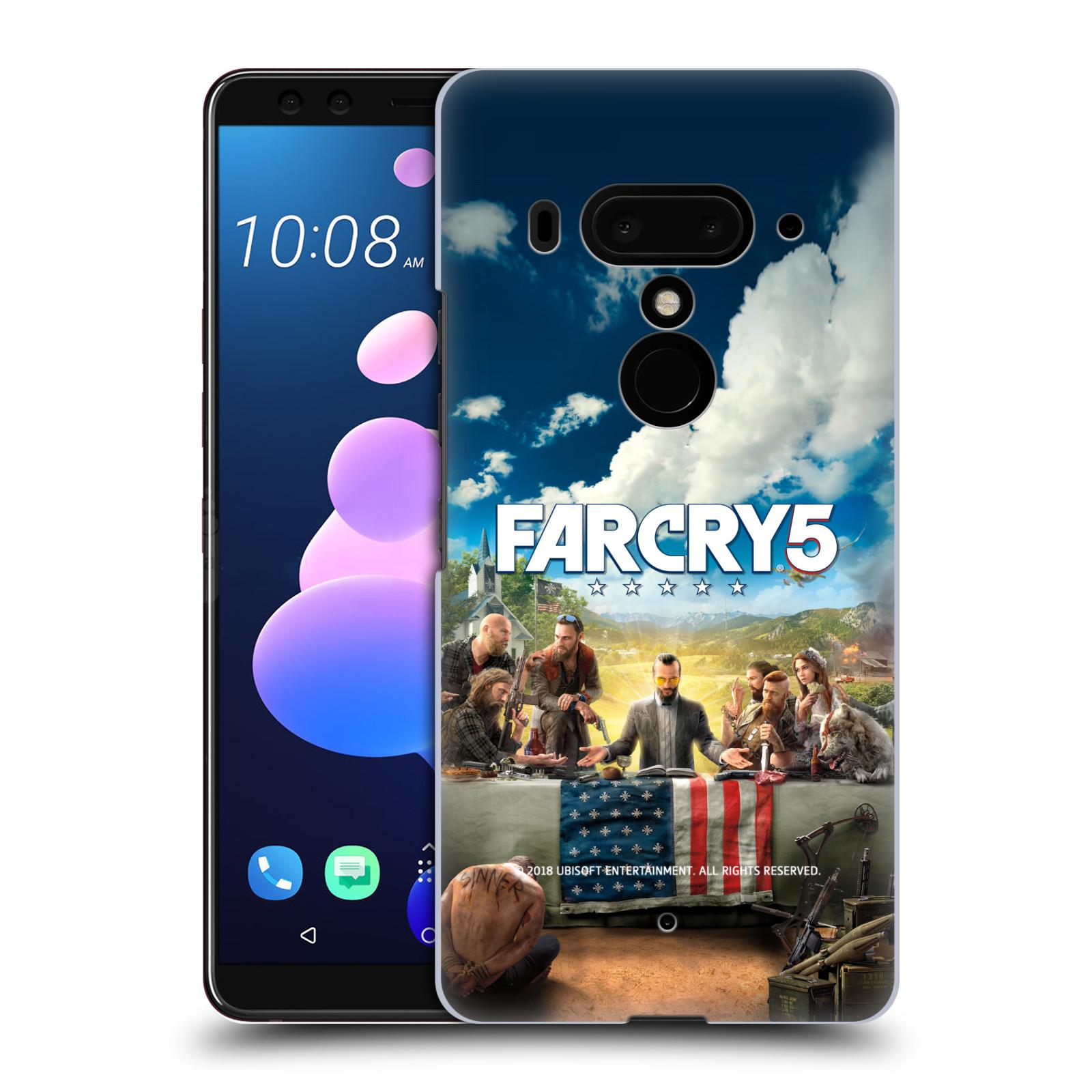 Pouzdro na mobil HTC U 12 PLUS / U 12+ DUAL SIM - HEAD CASE - Far Cry 5 poslední večeře