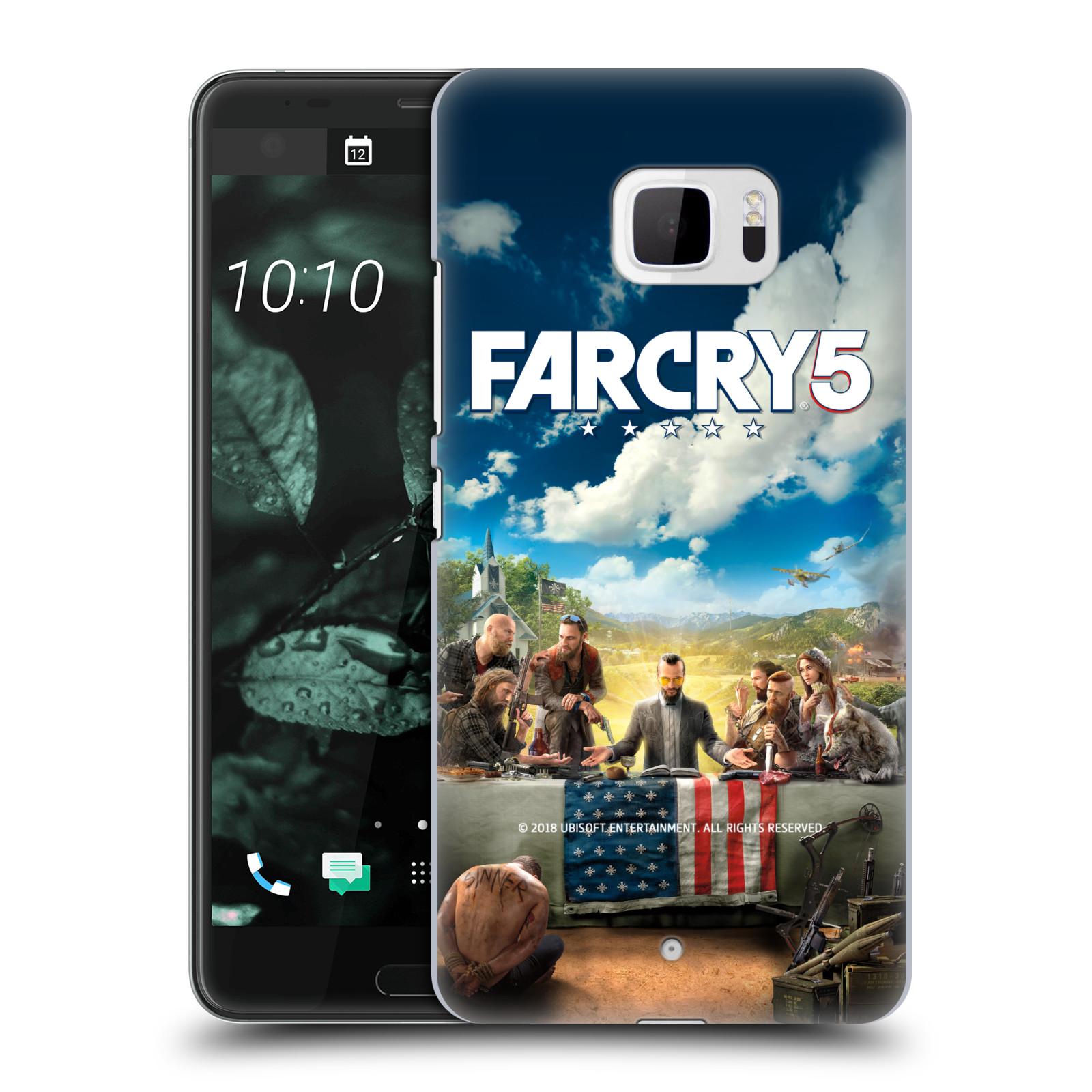 Pouzdro na mobil HTC U Ultra - HEAD CASE - Far Cry 5 poslední večeře
