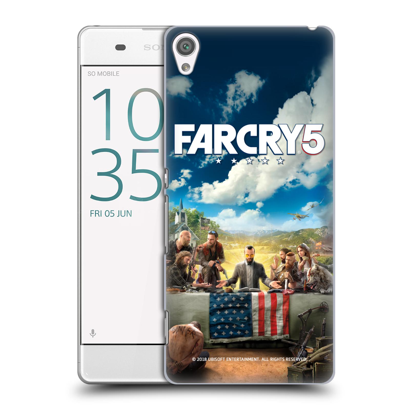 Pouzdro na mobil Sony Xperia XA - HEAD CASE - Far Cry 5 poslední večeře