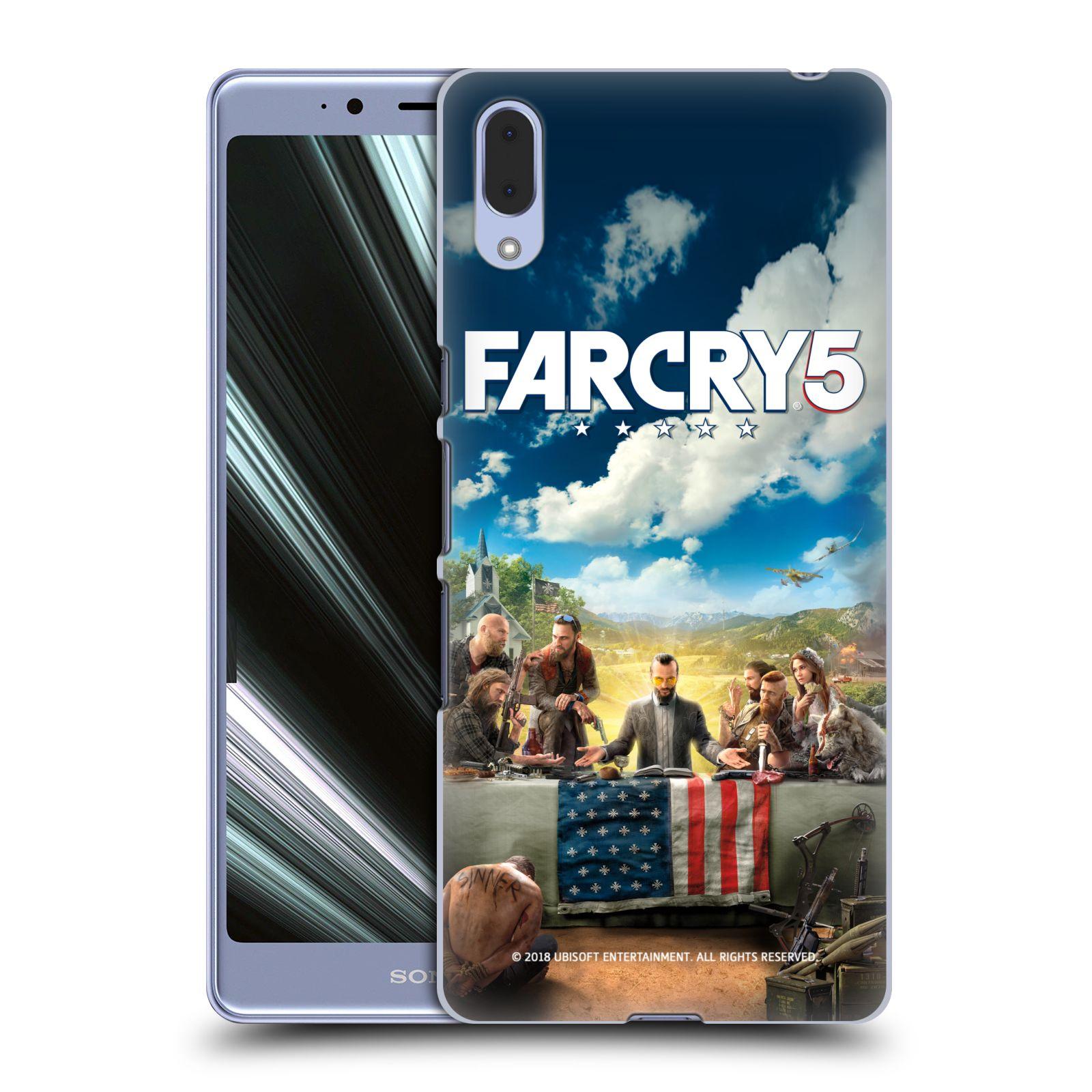 Pouzdro na mobil Sony Xperia L3 - HEAD CASE - Far Cry 5 poslední večeře