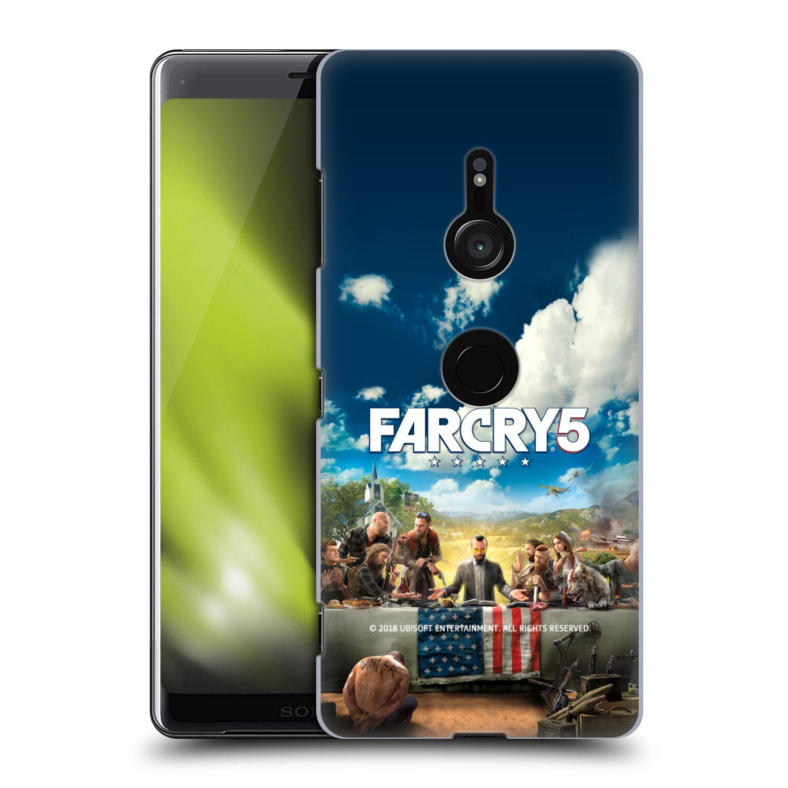 Pouzdro na mobil Sony Xperia XZ3 - HEAD CASE - Far Cry 5 poslední večeře