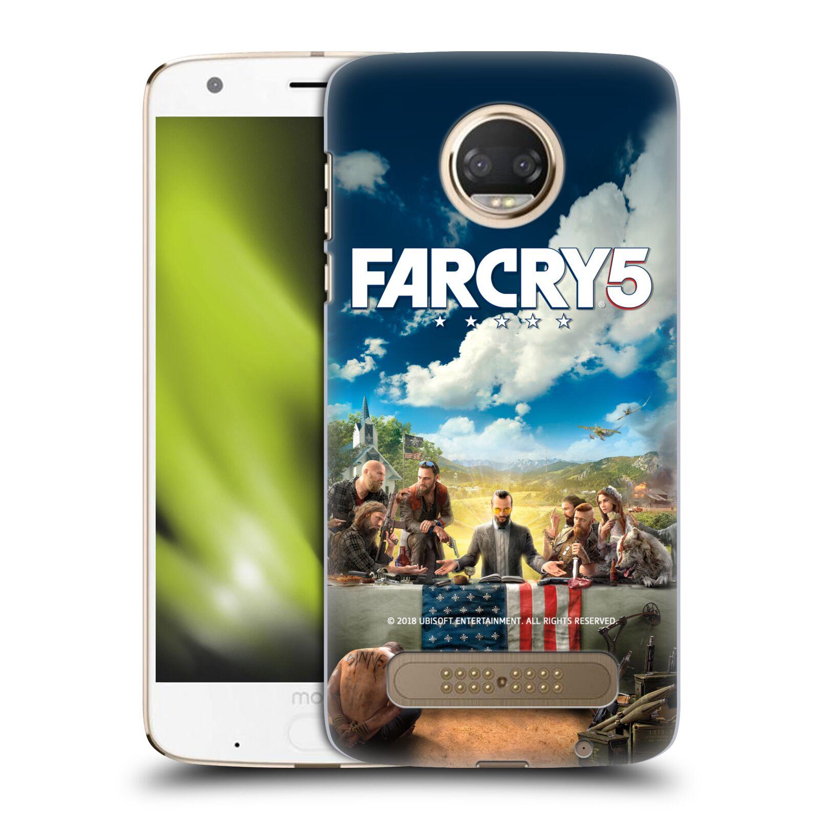 Pouzdro na mobil Motorola Moto Z2 PLAY - HEAD CASE - Far Cry 5 poslední večeře