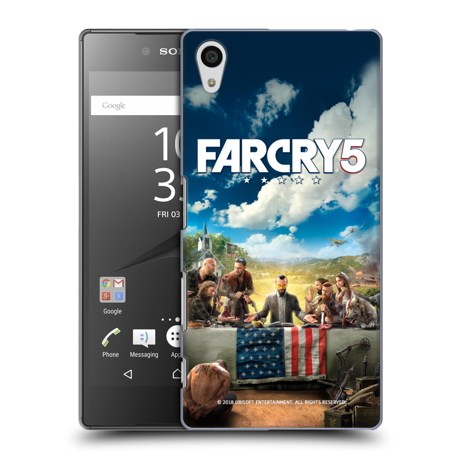 Pouzdro na mobil Sony Xperia Z5 - HEAD CASE - Far Cry 5 poslední večeře