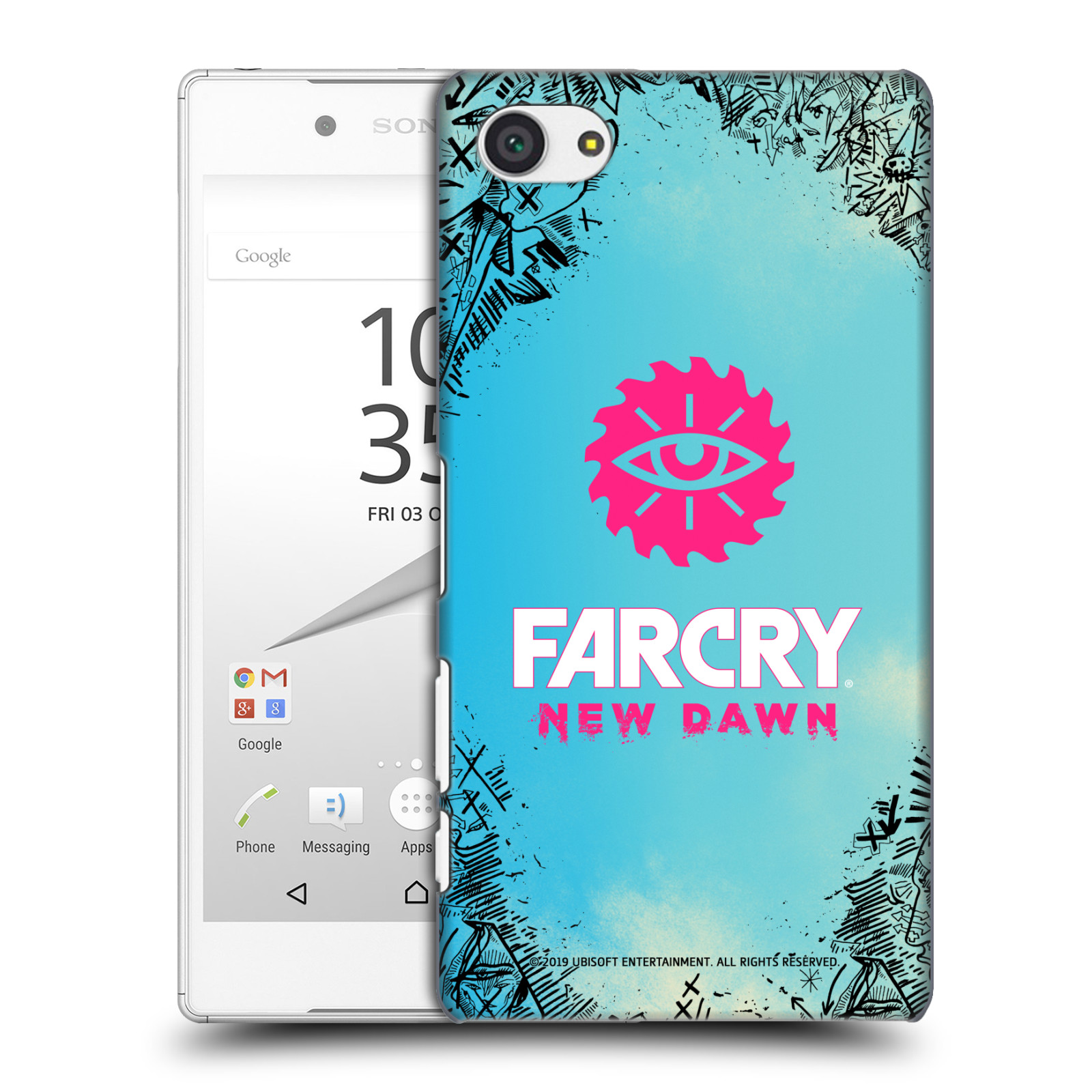 Pouzdro na mobil Sony Xperia Z5 COMPACT - HEAD CASE - Far Cry New Dawn