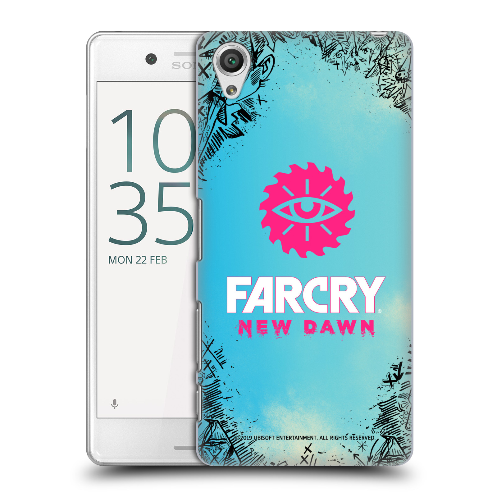 Pouzdro na mobil Sony Xperia X PERFORMANCE - HEAD CASE - Far Cry New Dawn
