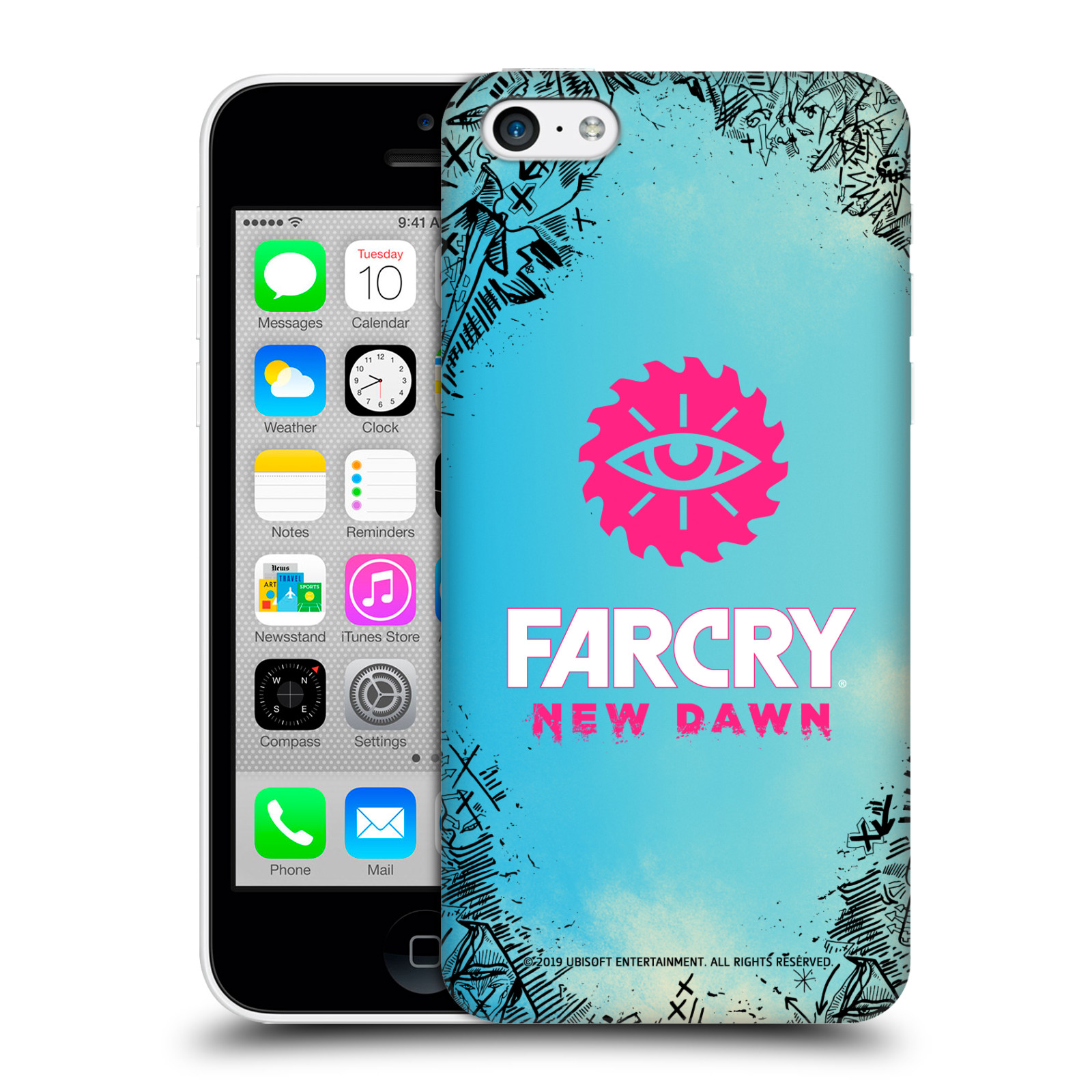 Pouzdro na mobil Apple Iphone 5C - HEAD CASE - Far Cry New Dawn