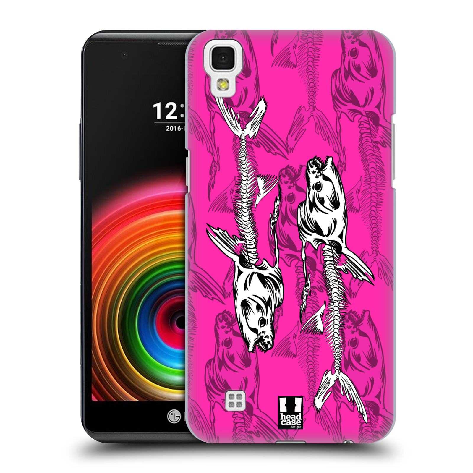 Head case designs fish bone hard back case for lg phones 2 for Cell phone cover design ideas