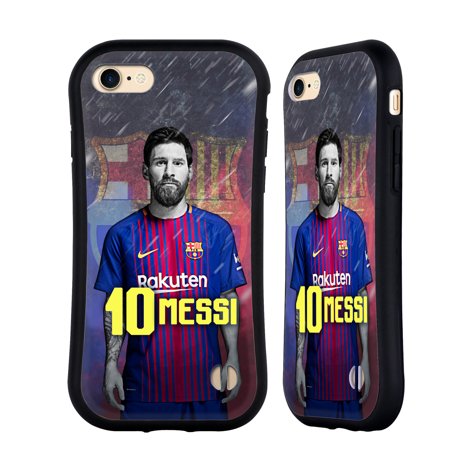 HEAD CASE odolný obal na mobil Apple Iphone 8 Fotbalový klub FC BARCELONA hráč Messi