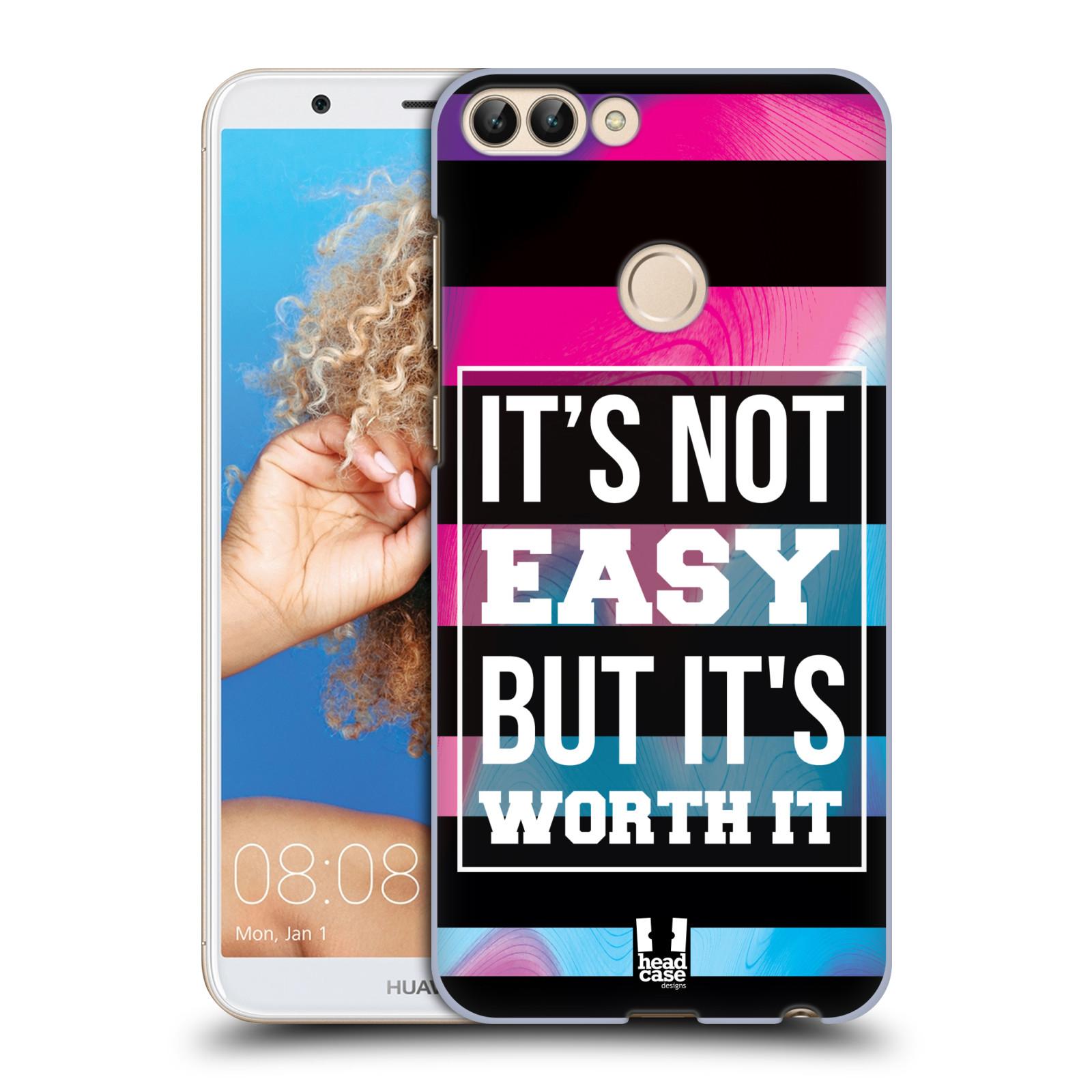 HEAD CASE plastový obal na mobil Huawei P Smart Sportovní nápisy Motivační nadpis BOJ