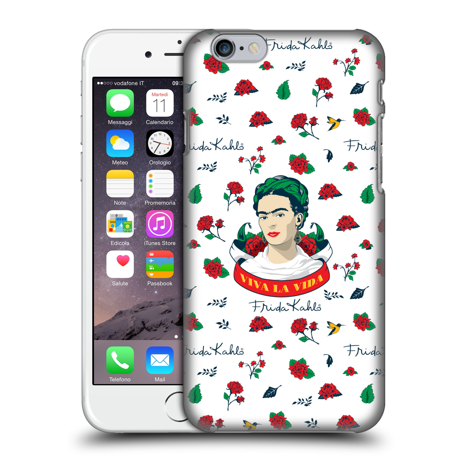 Frida Kahlo Icons-Rose Patterns