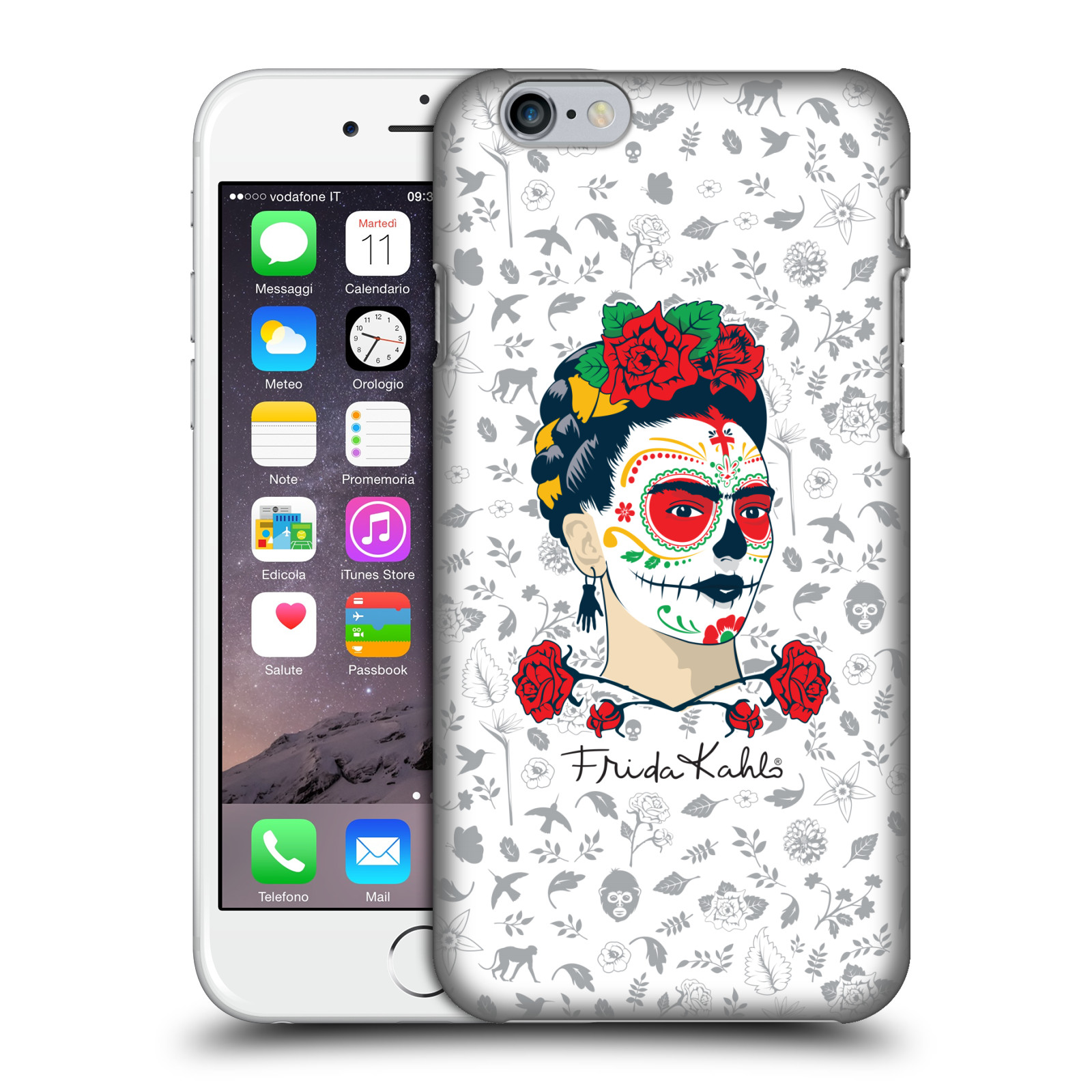 Frida Kahlo Icons-Sugar Skull