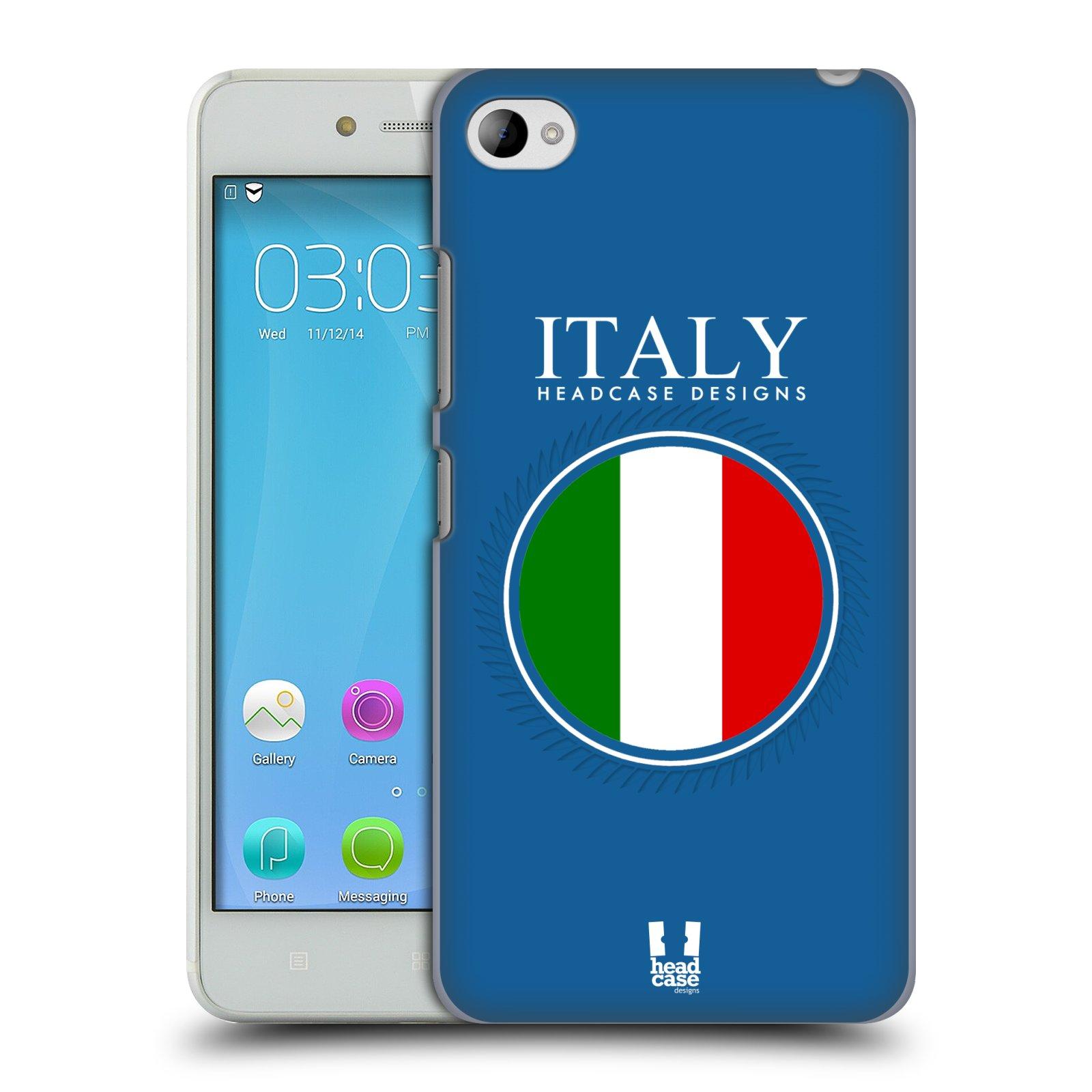 HEAD CASE pevný plastový obal na mobil LENOVO S90 vzor Vlajky státy 2 ITÁLIE