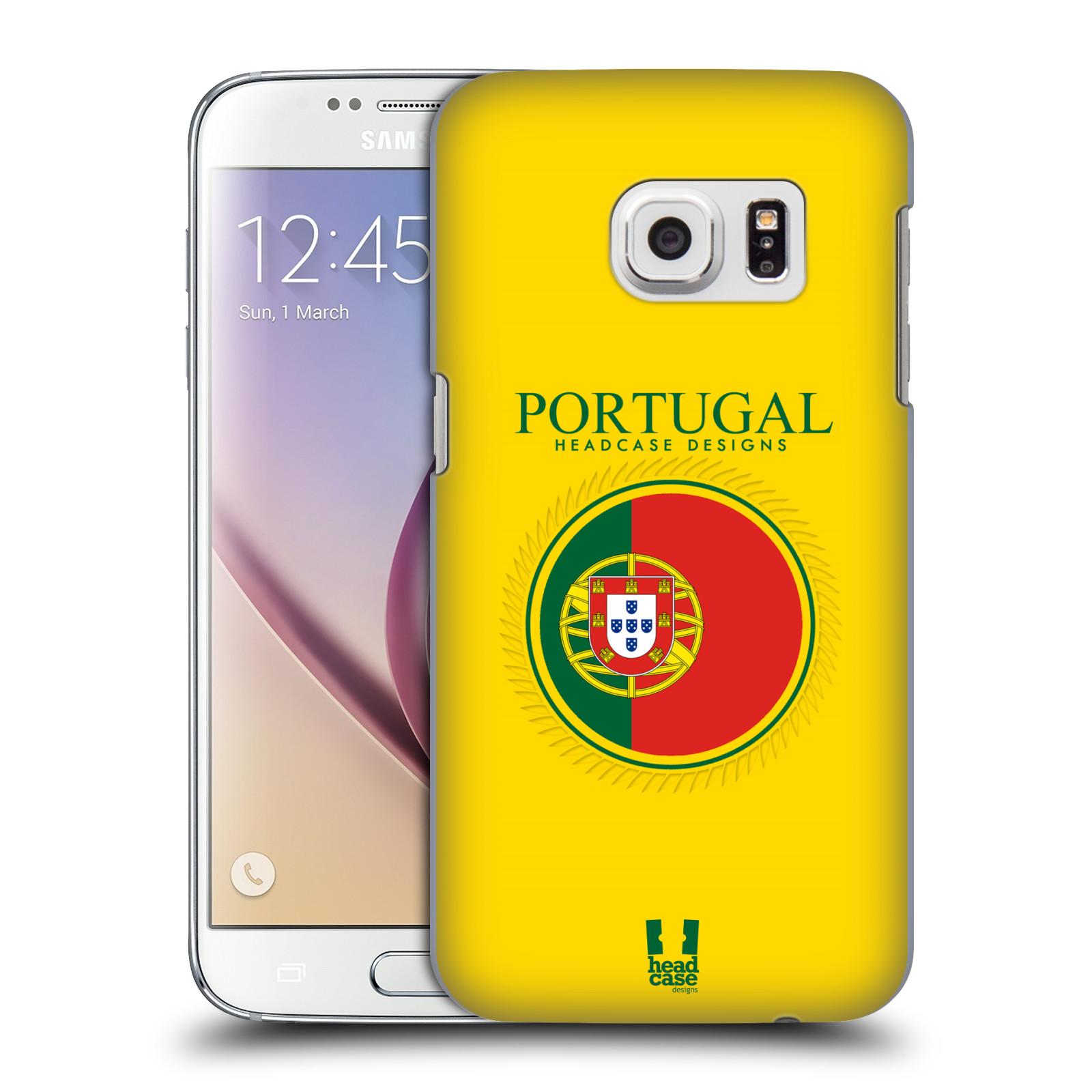 HEAD CASE plastový obal na mobil SAMSUNG GALAXY S7 vzor Vlajky státy 2 PORTUGALSKO