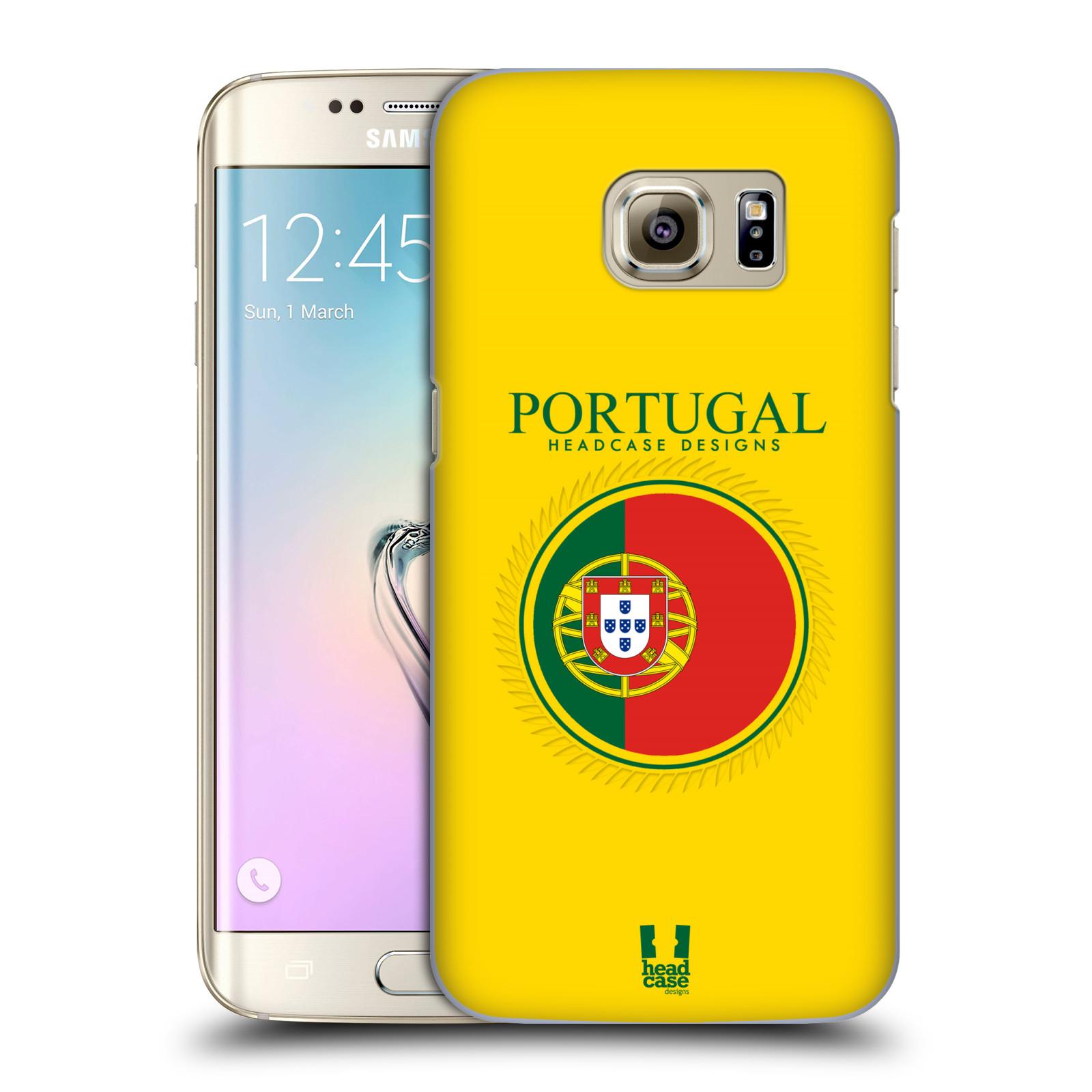 HEAD CASE plastový obal na mobil SAMSUNG GALAXY S7 EDGE vzor Vlajky státy 2 PORTUGALSKO
