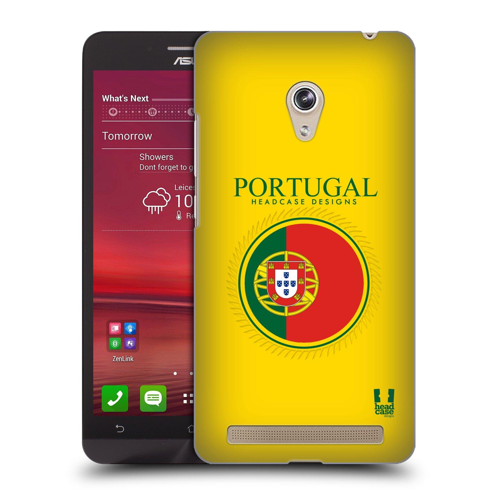 HEAD CASE plastový obal na mobil Asus Zenfone 6 vzor Vlajky státy 2 PORTUGALSKO