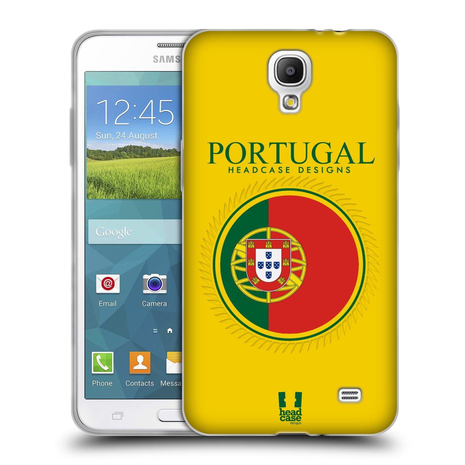 HEAD CASE silikonový obal na mobil Samsung Galaxy Mega 2 vzor Vlajky státy  2 PORTUGALSKO f57bb39c993
