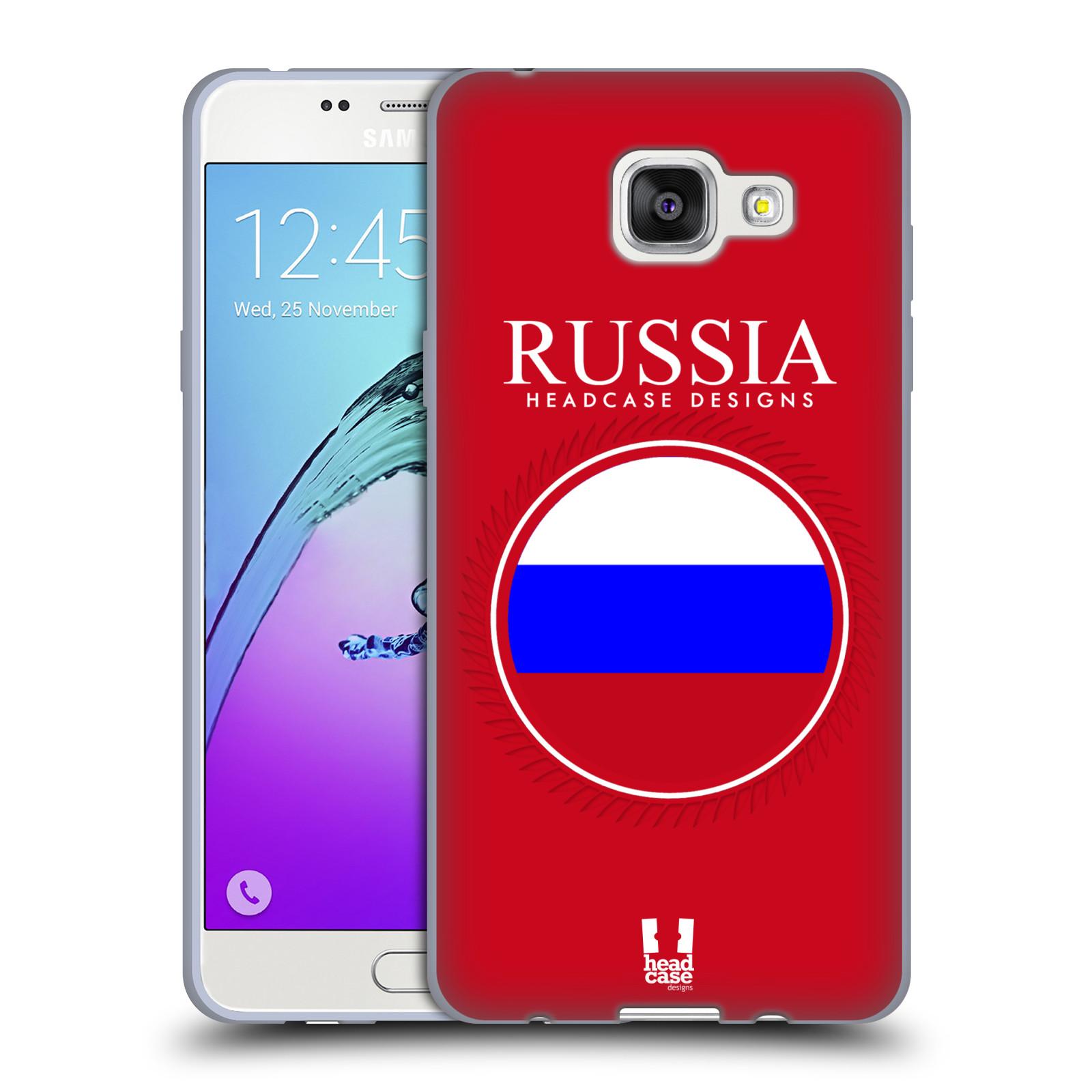 HEAD CASE silikonový obal na mobil Samsung Galaxy A5 (2016) vzor Vlajky  státy 2 empty ec172036ca6