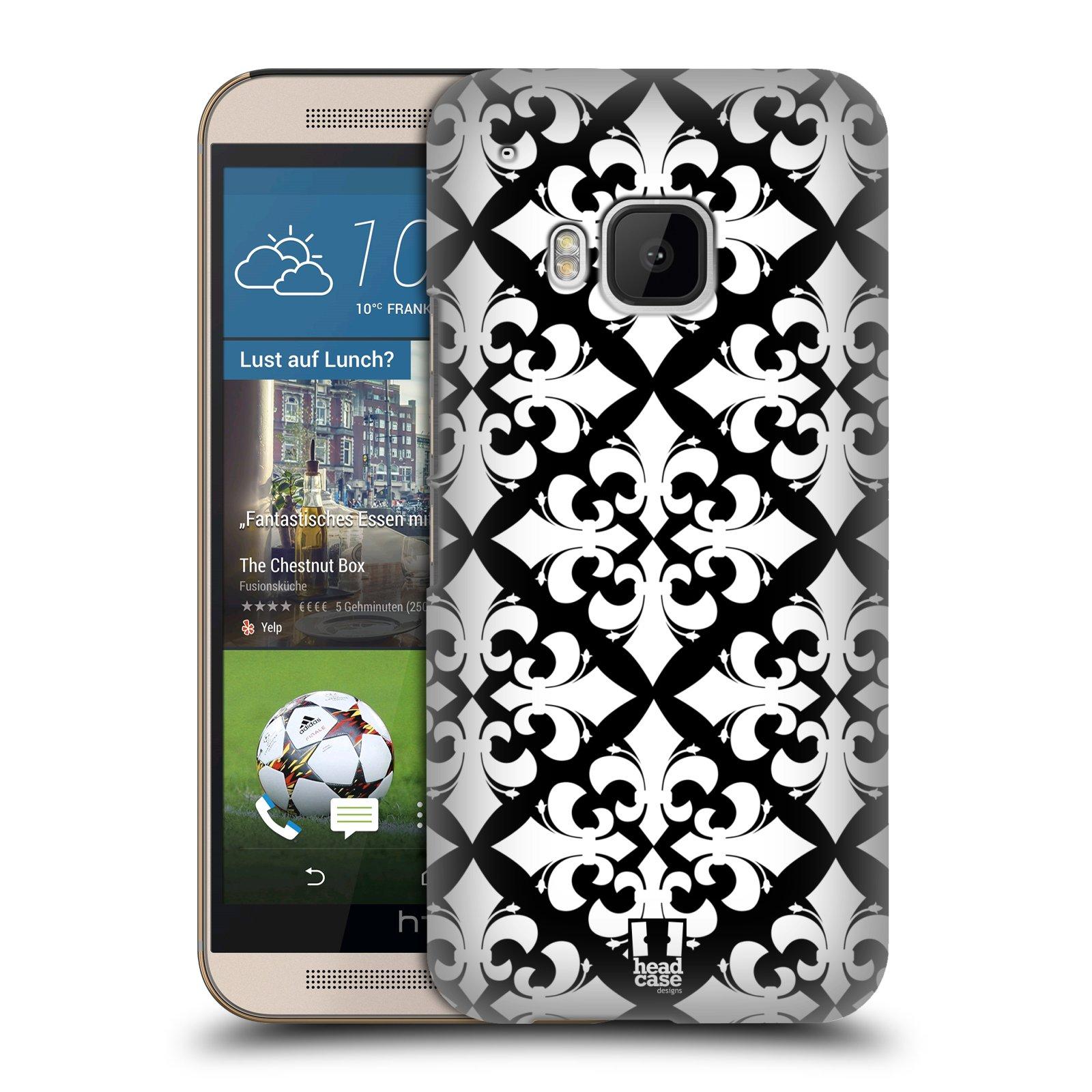 HEAD CASE FLEUR DE LIS COLLECTION BACK CASE FOR HTC ONE M9