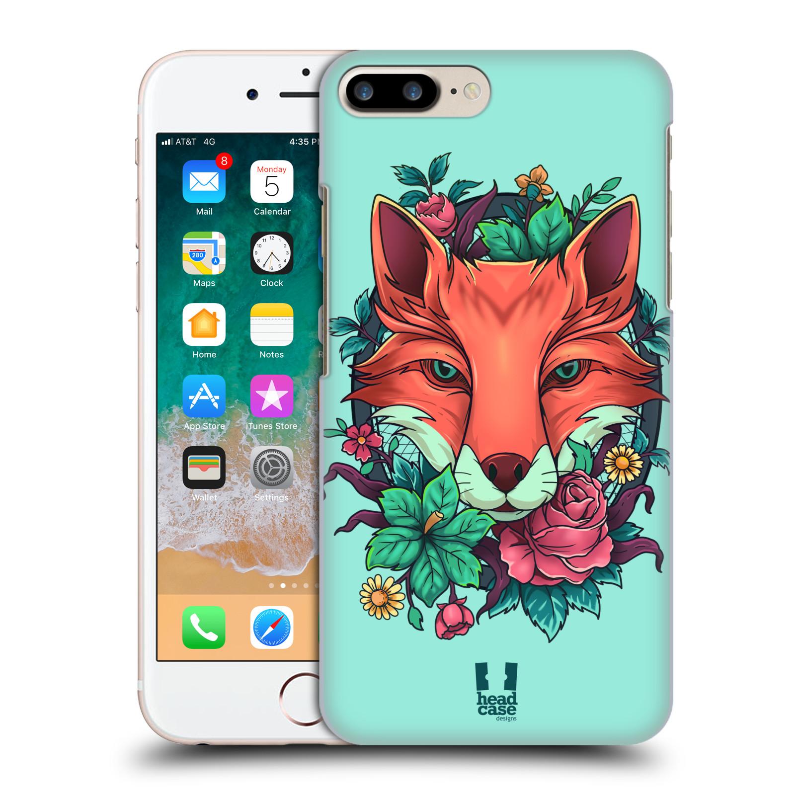 HEAD CASE plastový obal na mobil Apple Iphone 7 PLUS vzor Flóra a Fauna liška