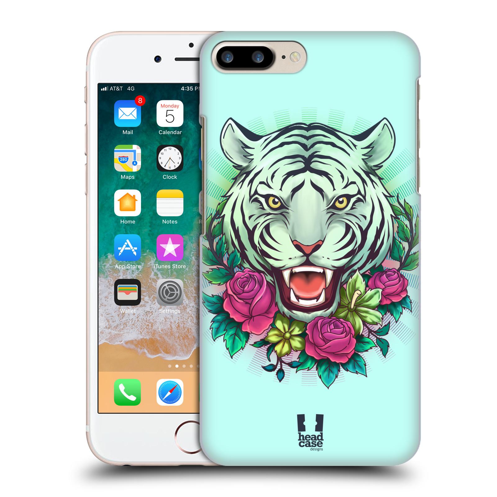 HEAD CASE plastový obal na mobil Apple Iphone 7 PLUS vzor Flóra a Fauna tygr