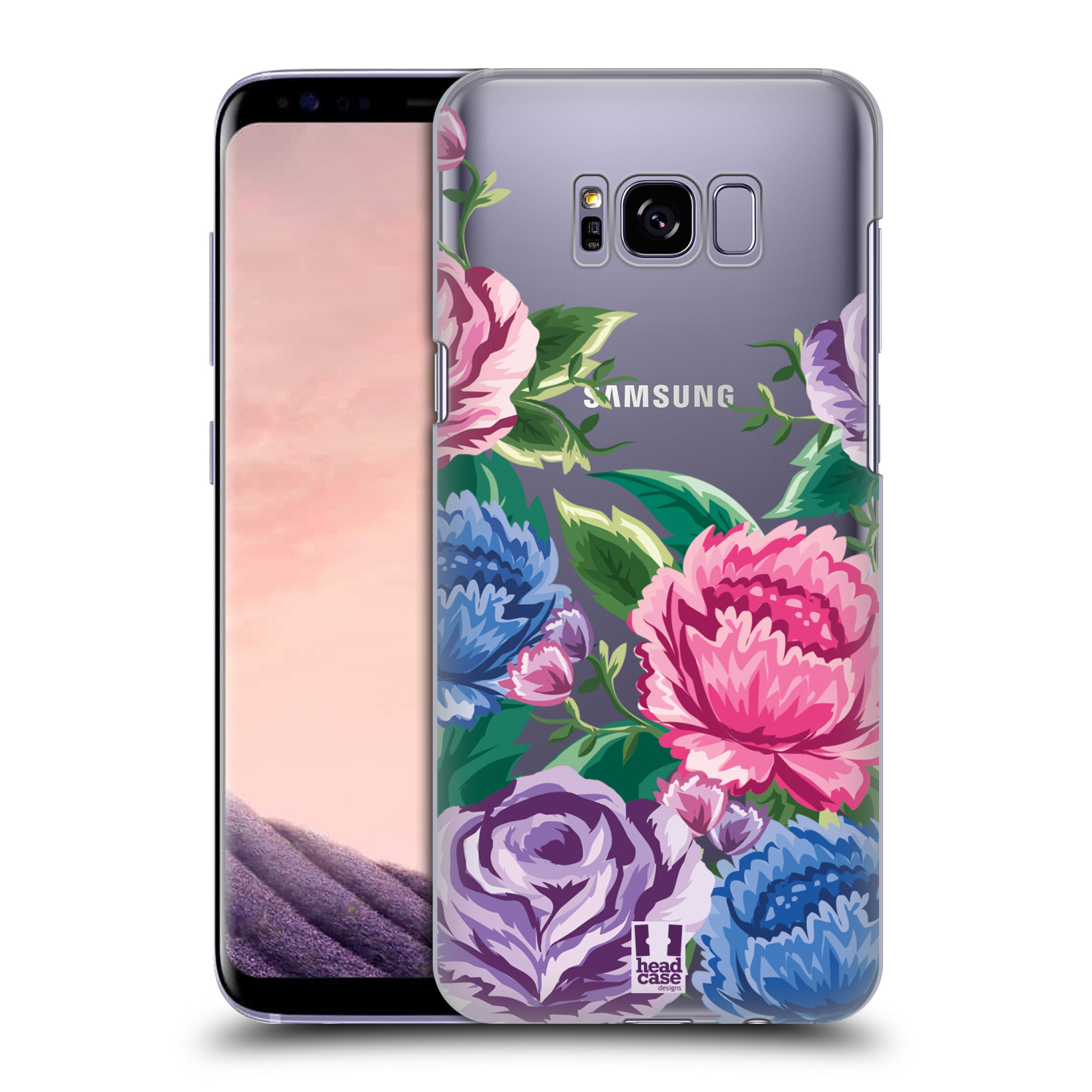 HEAD-CASE-DESIGNS-FLOWER-POWER-COVER-RETRO-RIGIDA-PER-SAMSUNG-GALAXY-S8-S8-PLUS