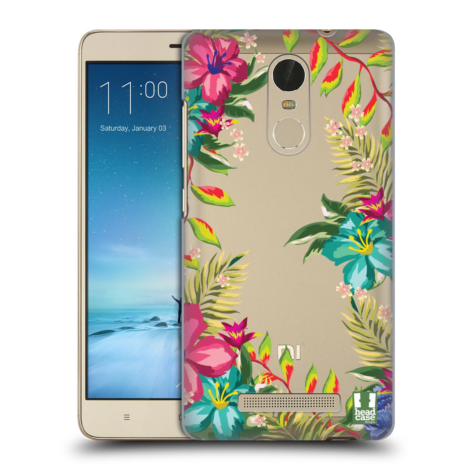 HEAD CASE DESIGNS FLOWER POWER HARD BACK CASE FOR XIAOMI PHONES