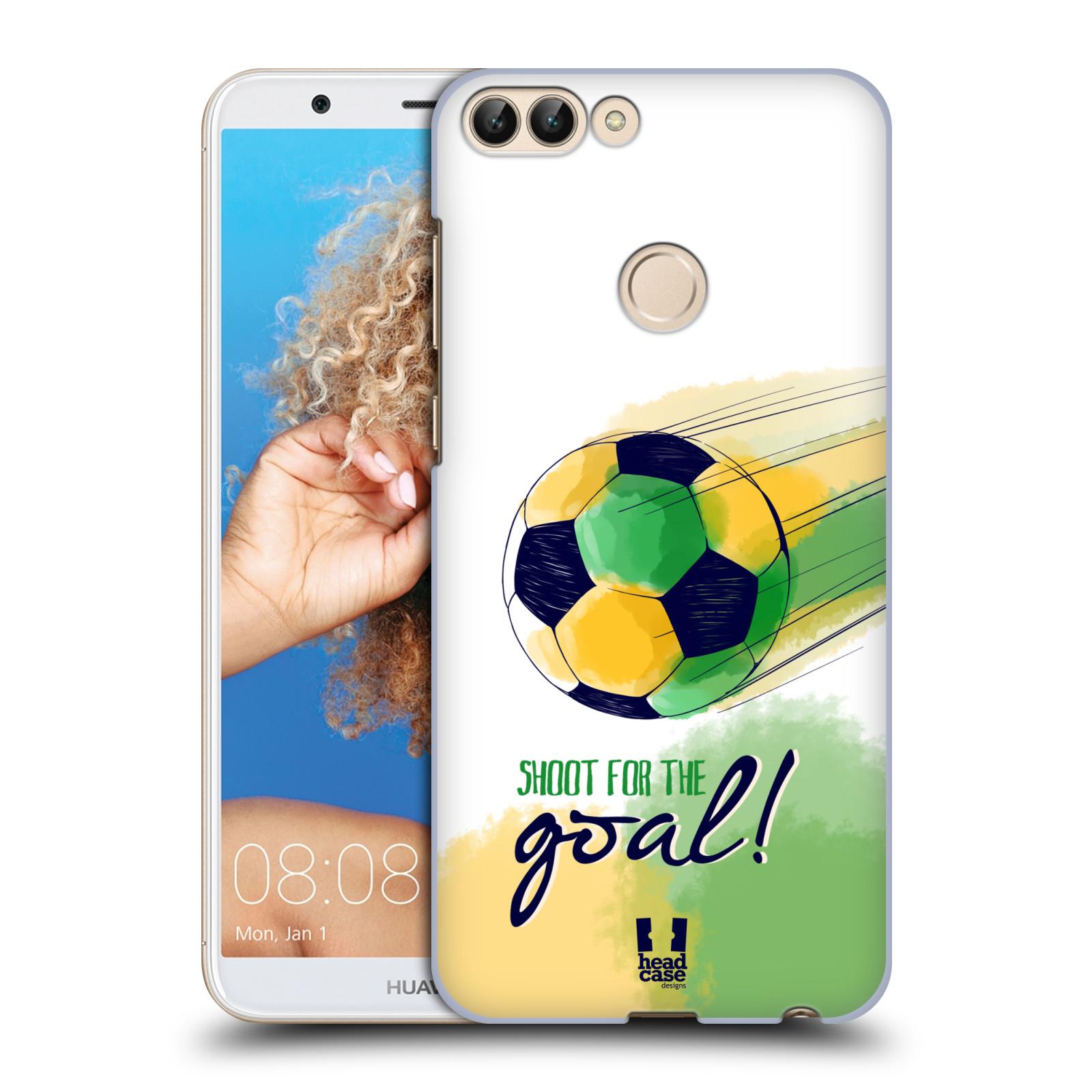 HEAD CASE plastový obal na mobil Huawei P Smart Sport fotbalový gól zelená barva