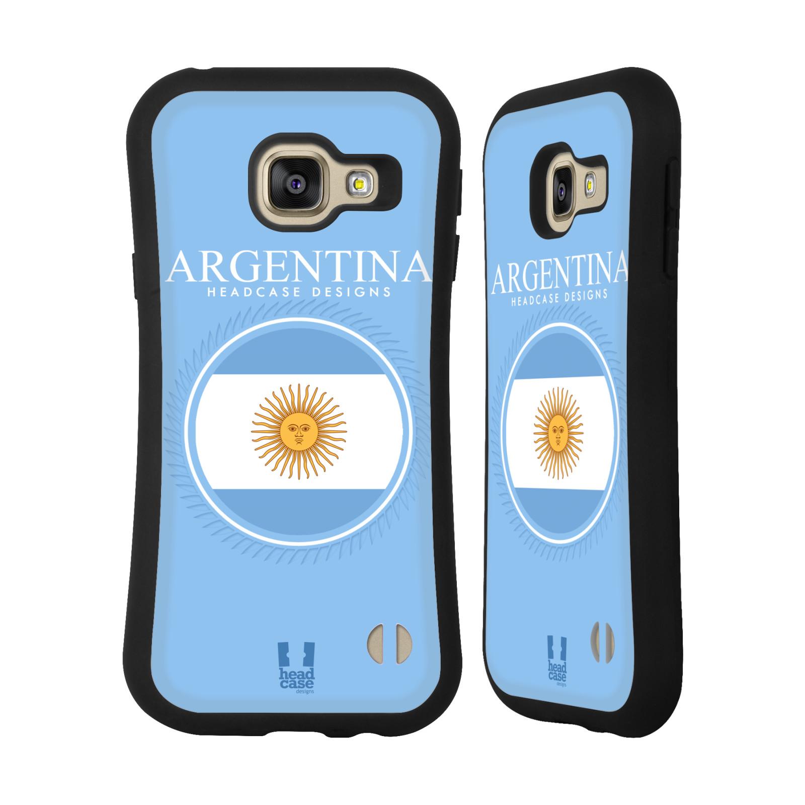 58c6c87fc HEAD CASE silikon/plast odolný obal na mobil Samsung Galaxy A3 2016 vzor  Vlajky státy empty