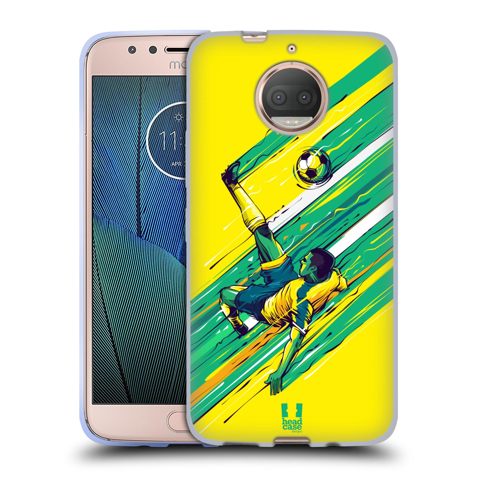 HEAD CASE silikonový obal na mobil Lenovo Moto G5s PLUS Sport fotbal kreslený nůžky