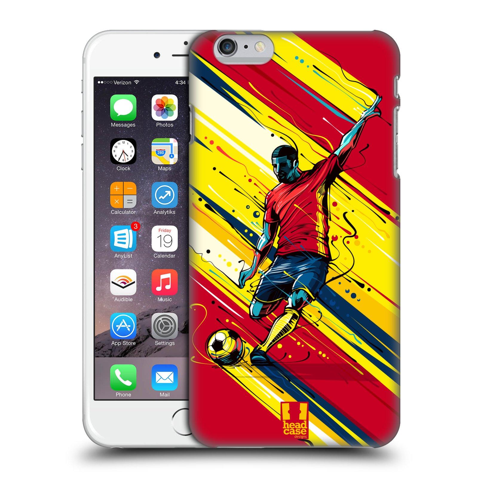 Plastové pouzdro pro mobil Apple Iphone 6 PLUS / 6S PLUS Sport fotbal střela do brány