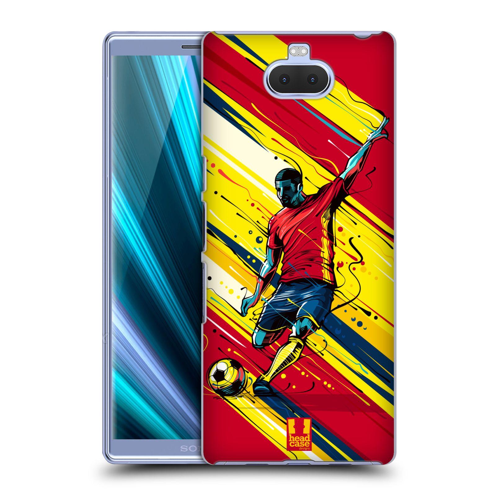 Pouzdro na mobil Sony Xperia 10 - Head Case - Sport fotbal střela do brány